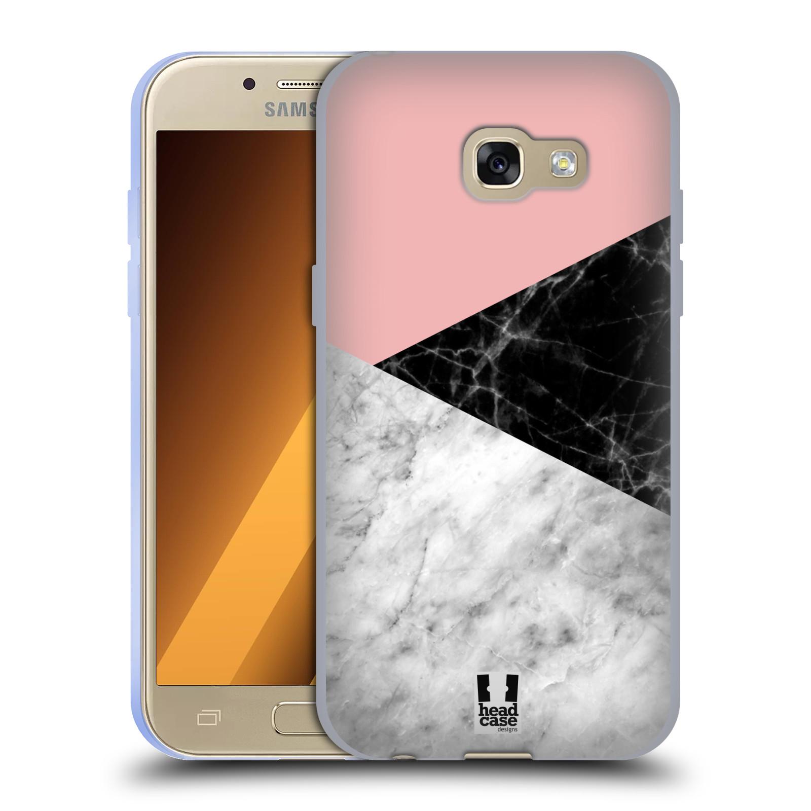 Silikonové pouzdro na mobil Samsung Galaxy A3 (2017) - Head Case - Mramor mix