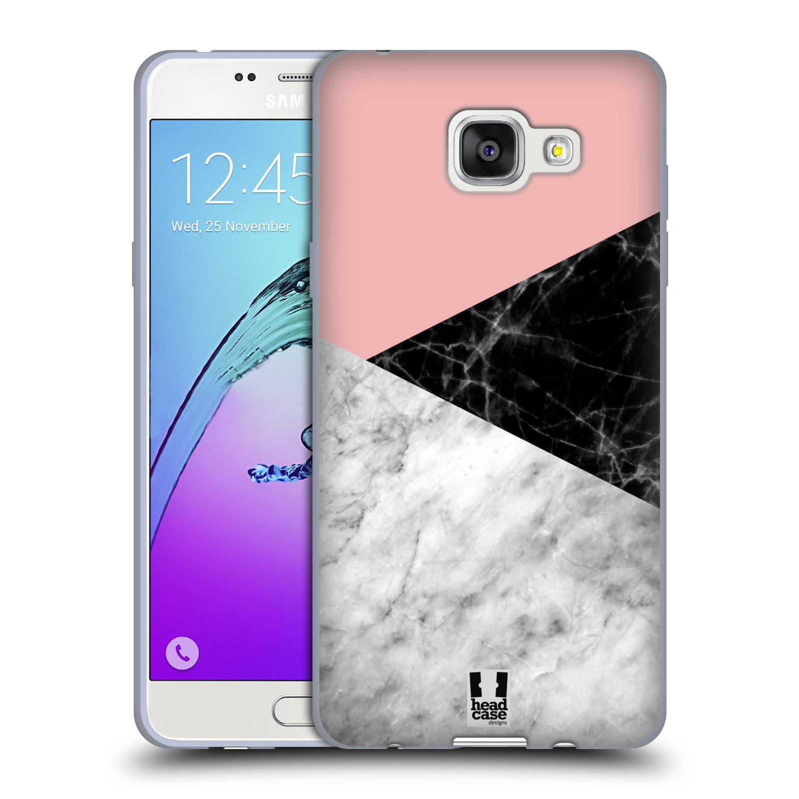 Silikonové pouzdro na mobil Samsung Galaxy A5 (2016) - Head Case - Mramor mix