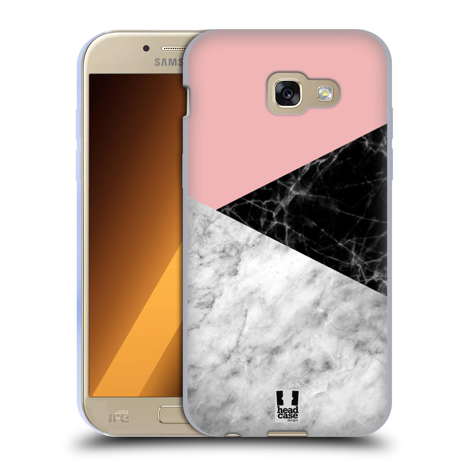 Silikonové pouzdro na mobil Samsung Galaxy A5 (2017) - Head Case - Mramor mix