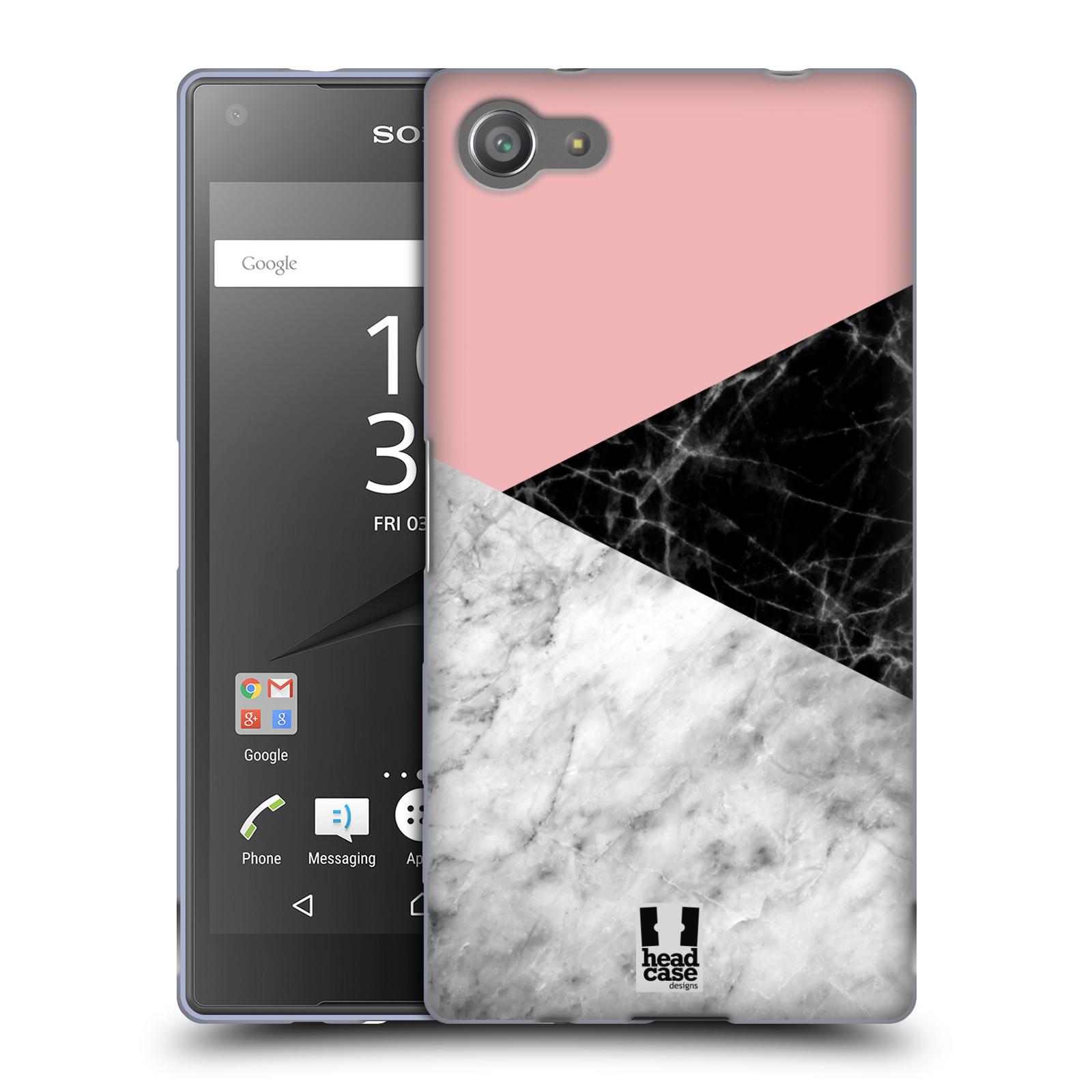 Silikonové pouzdro na mobil Sony Xperia Z5 Compact - Head Case - Mramor mix