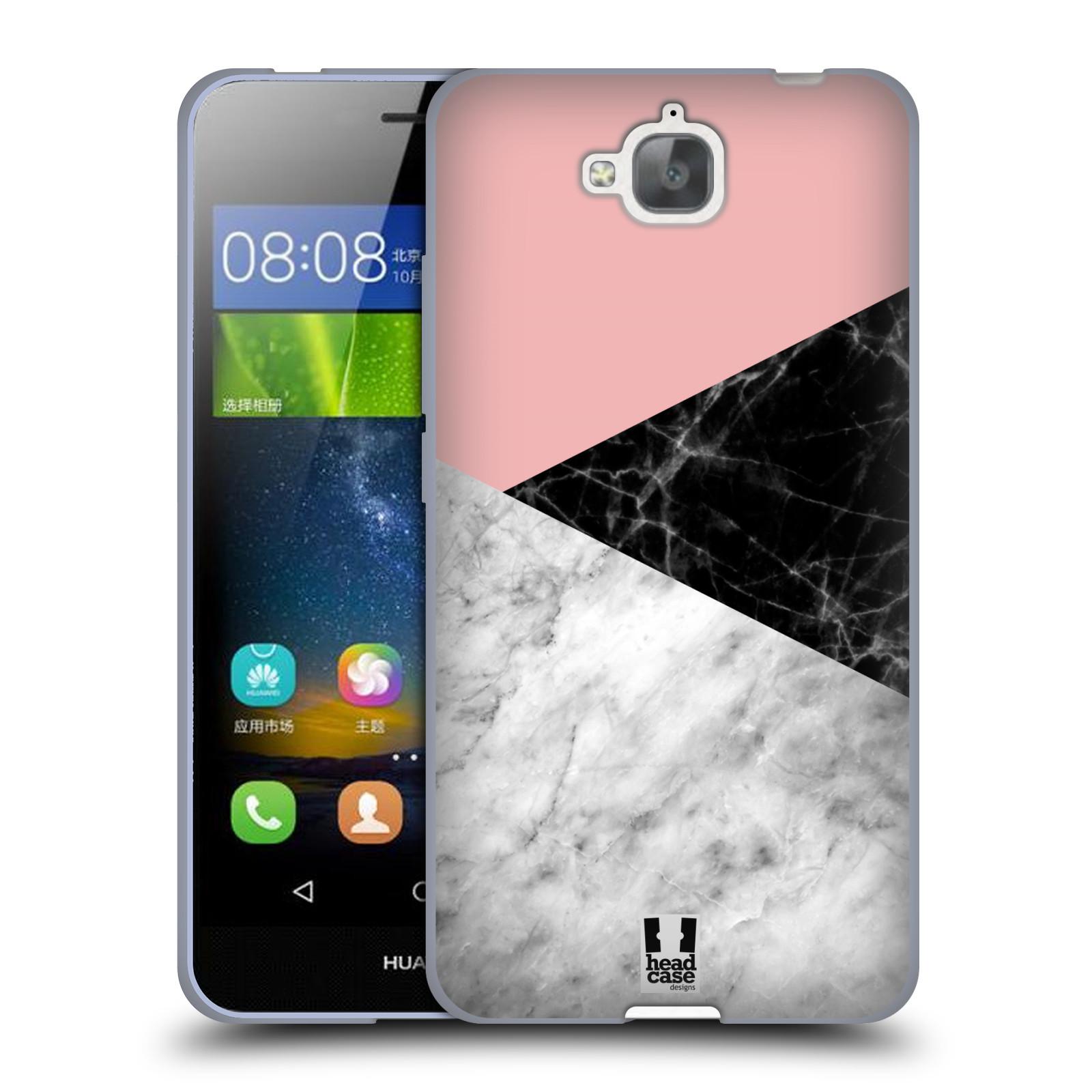 Silikonové pouzdro na mobil Huawei Y6 Pro Dual Sim - Head Case - Mramor mix