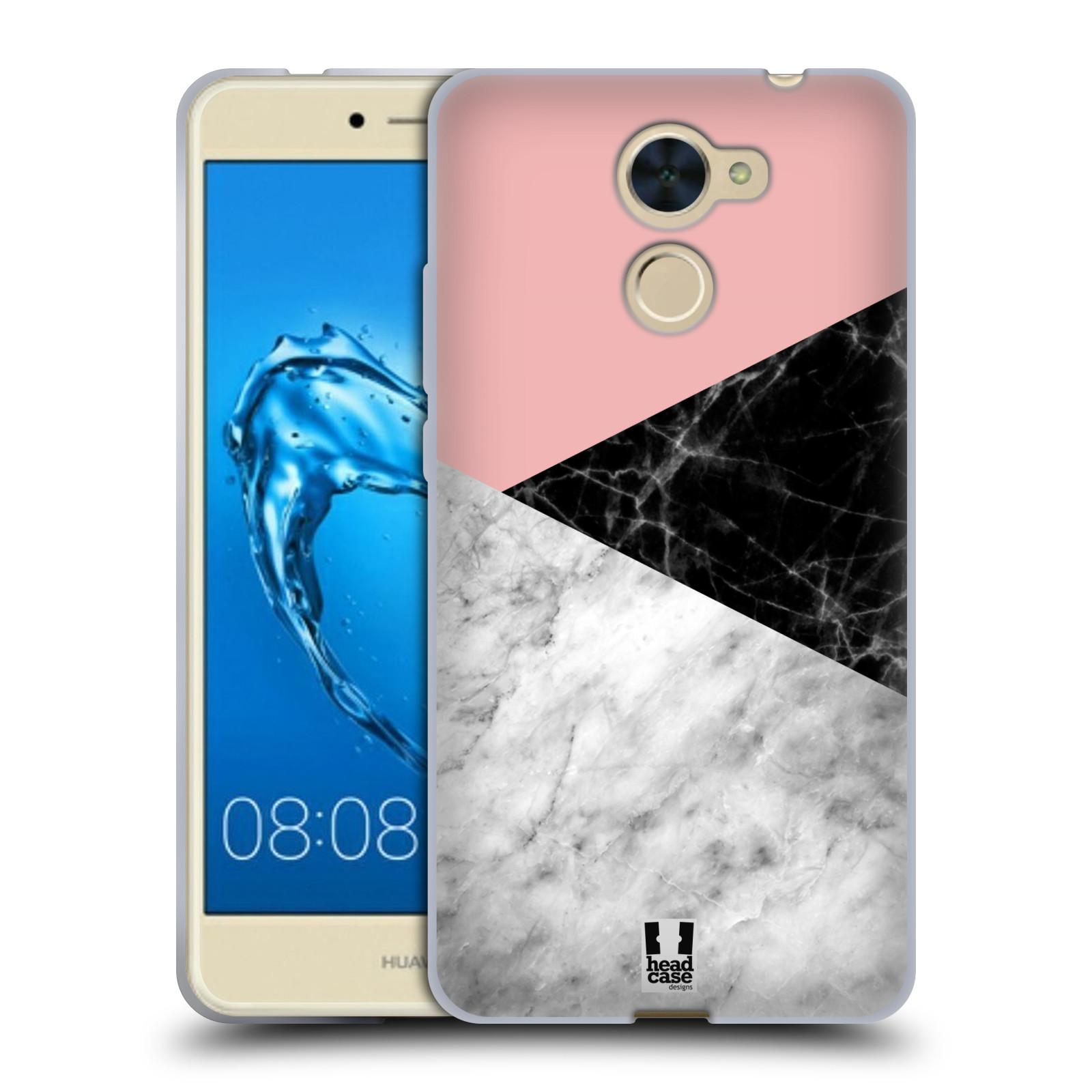 Silikonové pouzdro na mobil Huawei Y7 - Head Case - Mramor mix