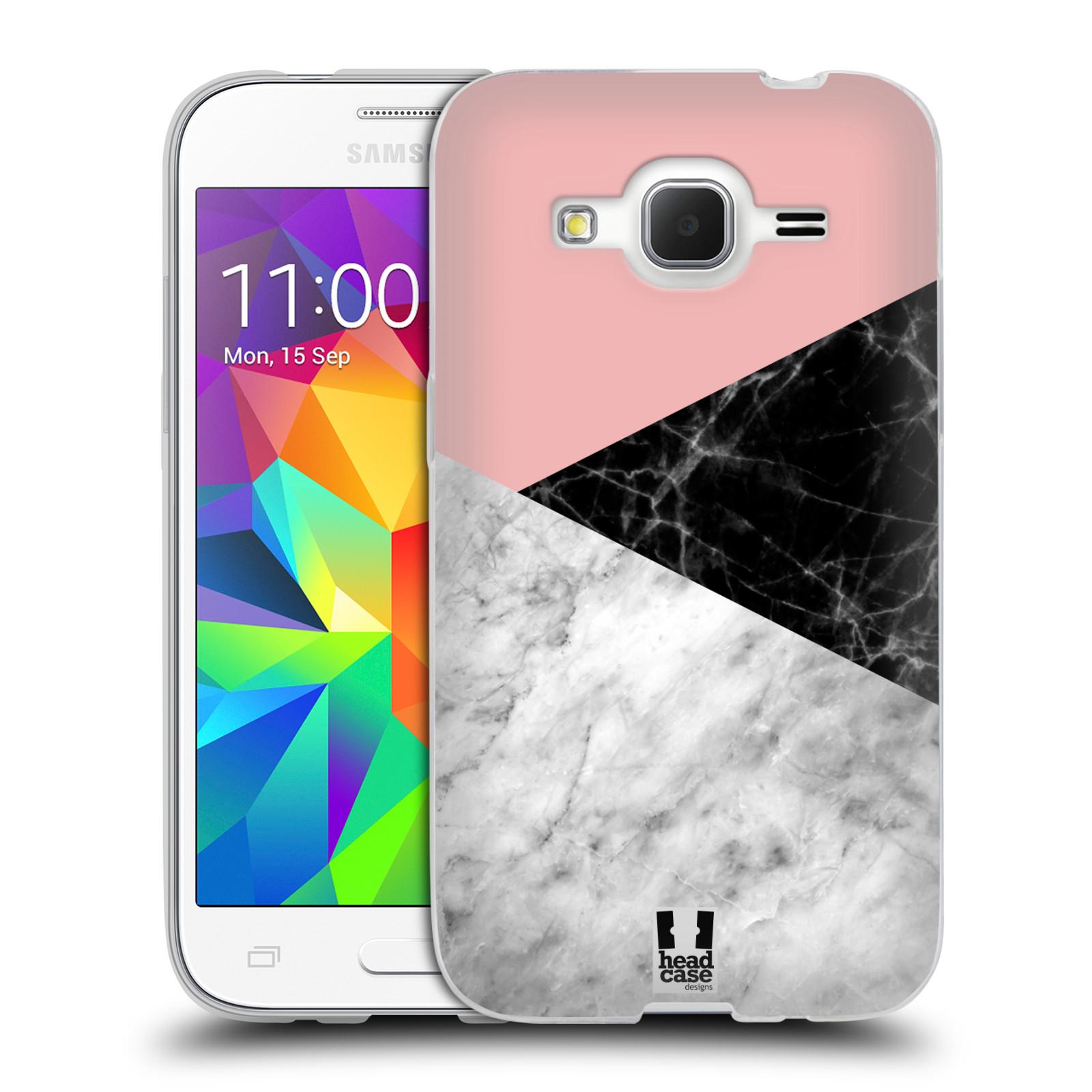Silikonové pouzdro na mobil Samsung Galaxy Core Prime LTE - Head Case - Mramor mix