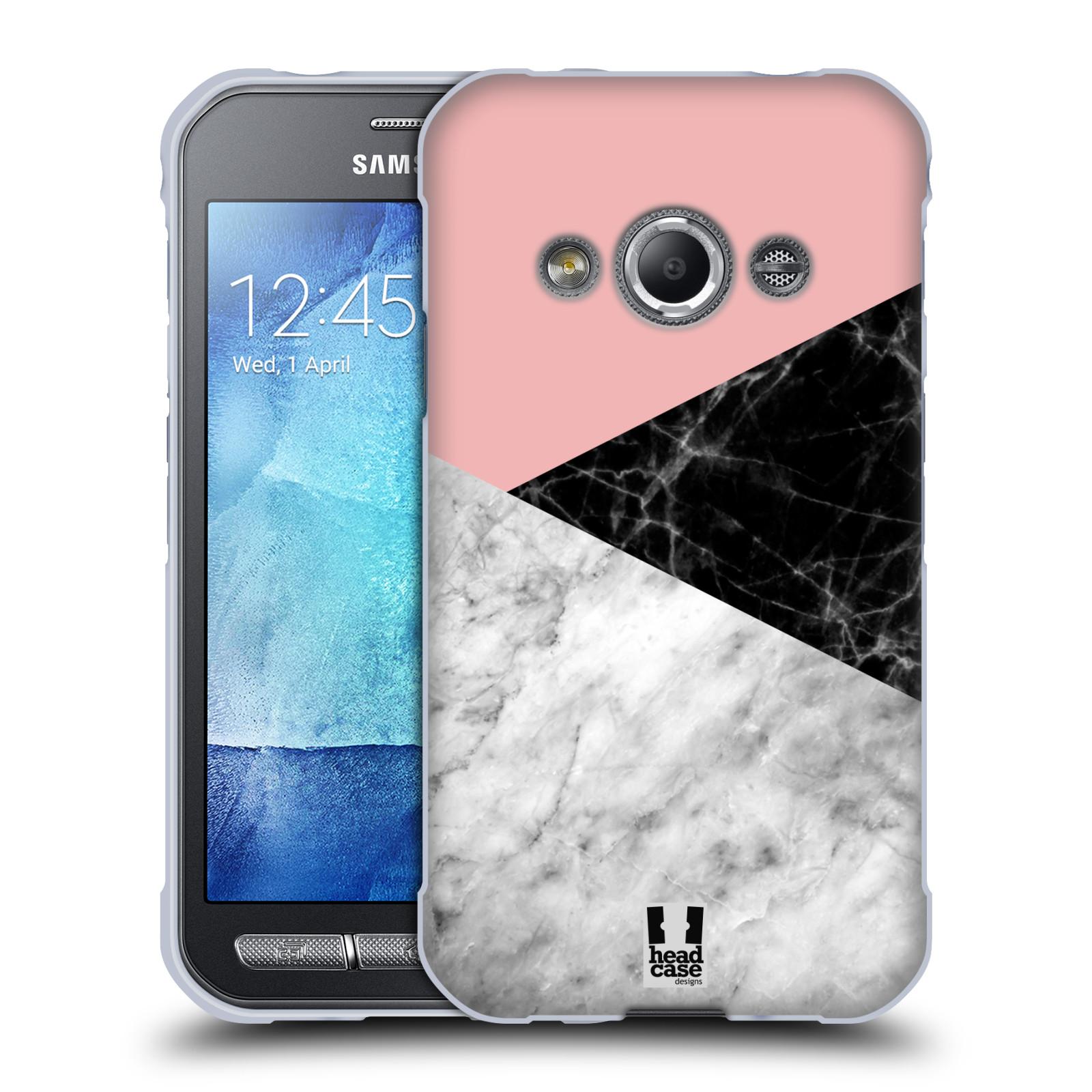 Silikonové pouzdro na mobil Samsung Galaxy Xcover 3 - Head Case - Mramor mix