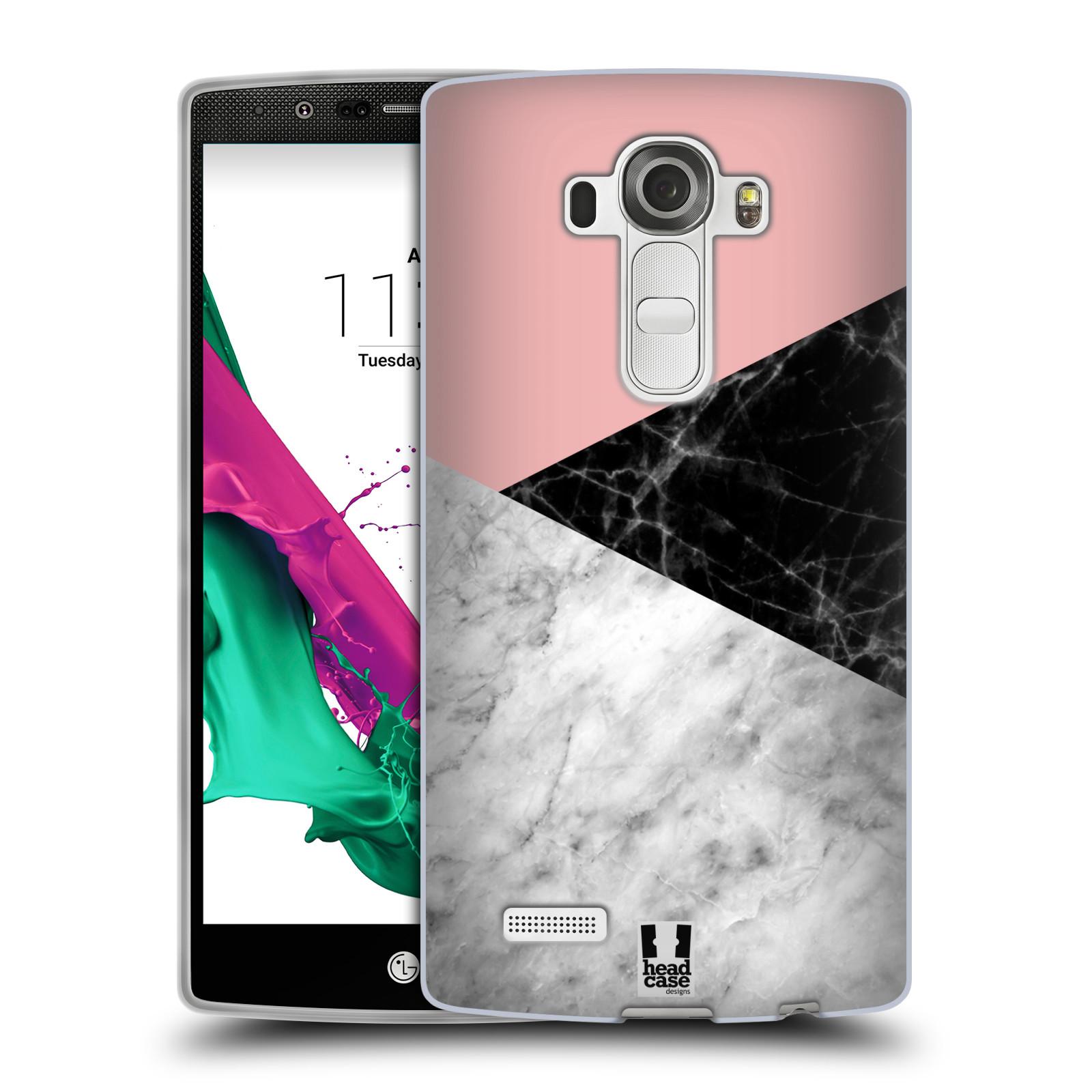 Silikonové pouzdro na mobil LG G4 - Head Case - Mramor mix