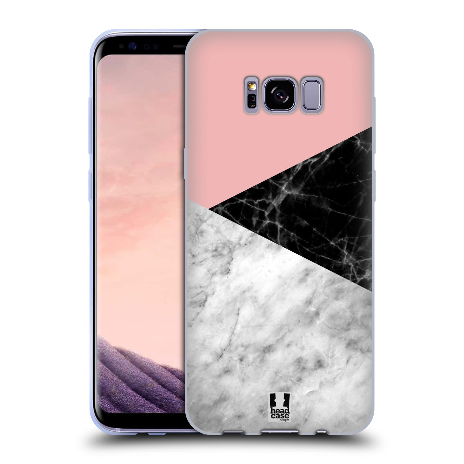 Silikonové pouzdro na mobil Samsung Galaxy S8+ (Plus) - Head Case - Mramor mix