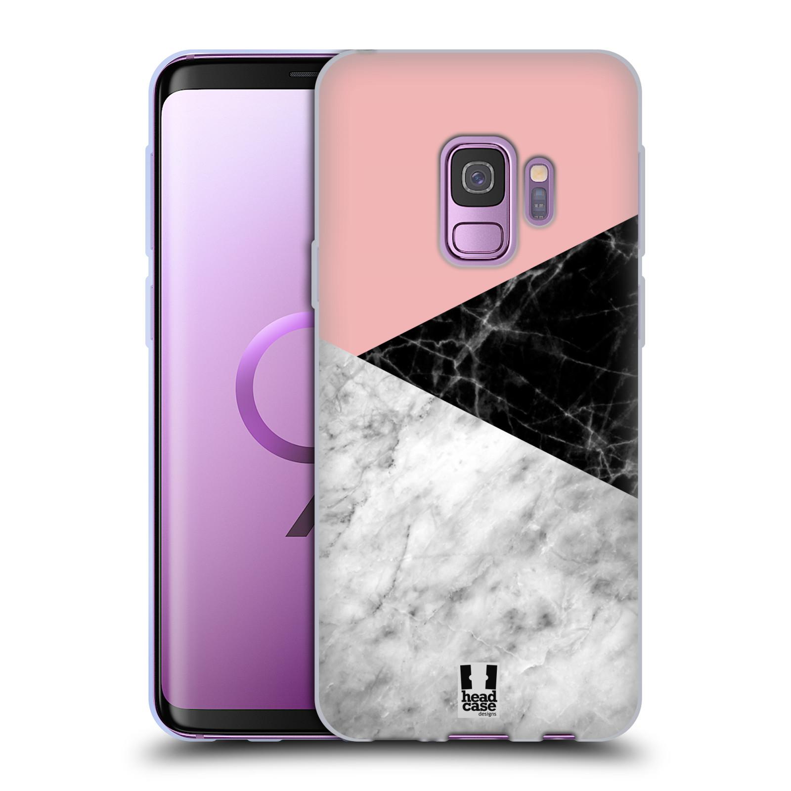 Silikonové pouzdro na mobil Samsung Galaxy S9 - Head Case - Mramor mix