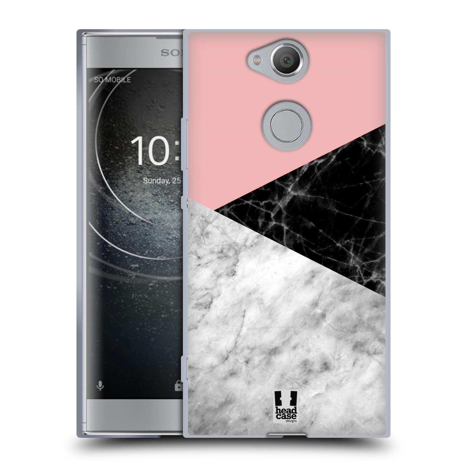Silikonové pouzdro na mobil Sony Xperia XA2 - Head Case - Mramor mix