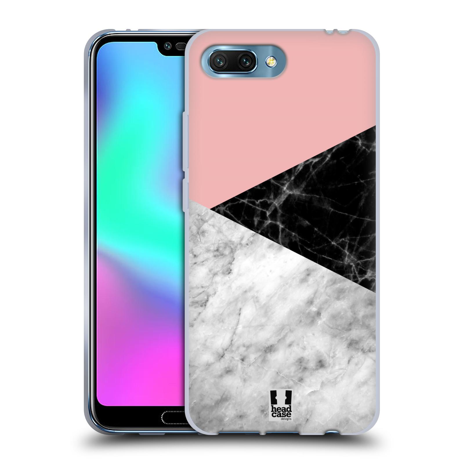 Silikonové pouzdro na mobil Honor 10 - Head Case - Mramor mix
