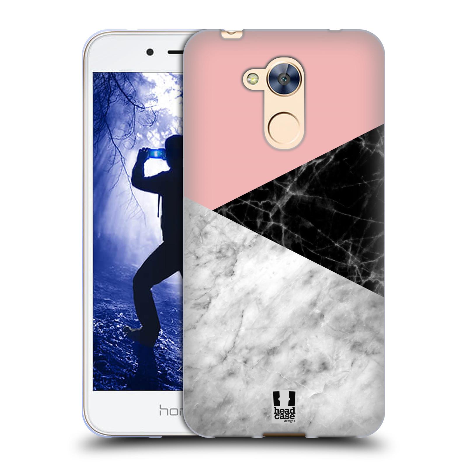 Silikonové pouzdro na mobil Honor 6A - Head Case - Mramor mix