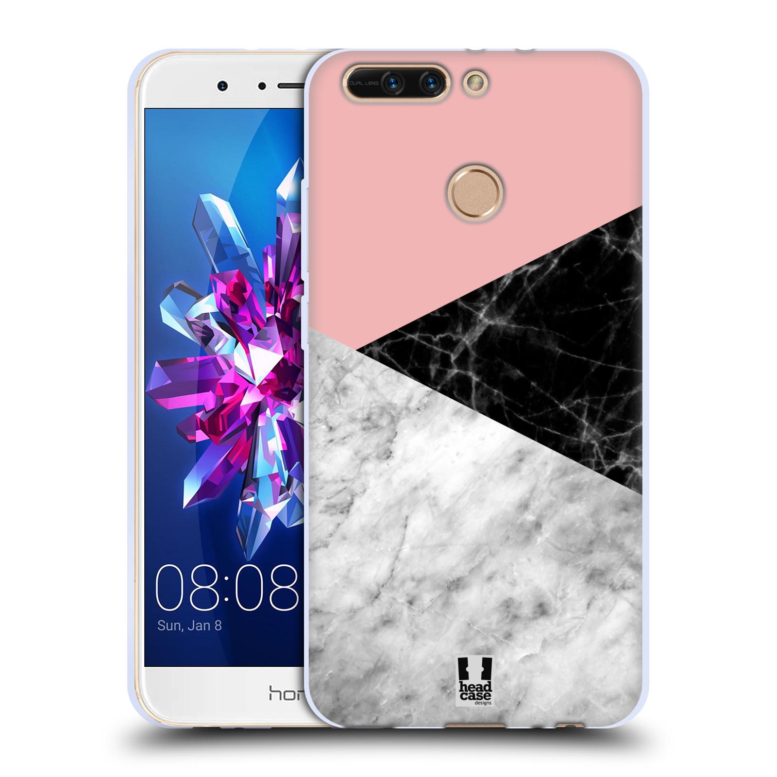 Silikonové pouzdro na mobil Honor 8 Pro - Head Case - Mramor mix