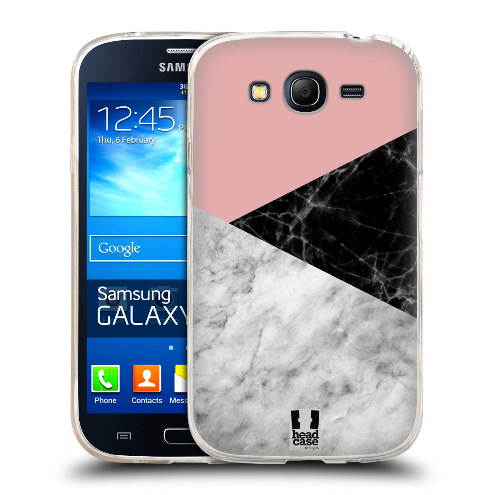 Silikonové pouzdro na mobil Samsung Galaxy Grand Neo - Head Case - Mramor mix