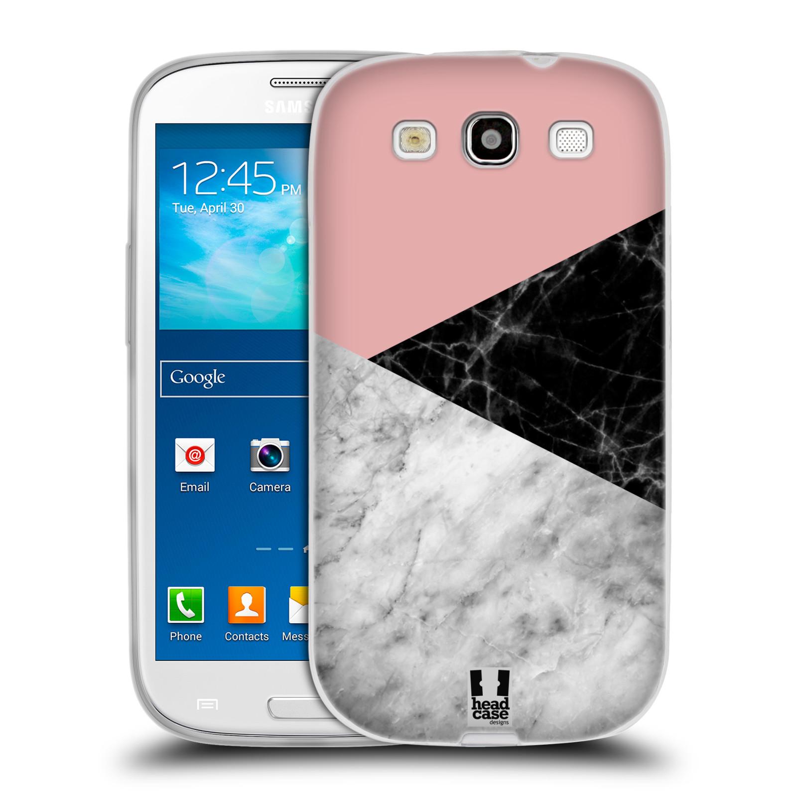 Silikonové pouzdro na mobil Samsung Galaxy S3 Neo - Head Case - Mramor mix