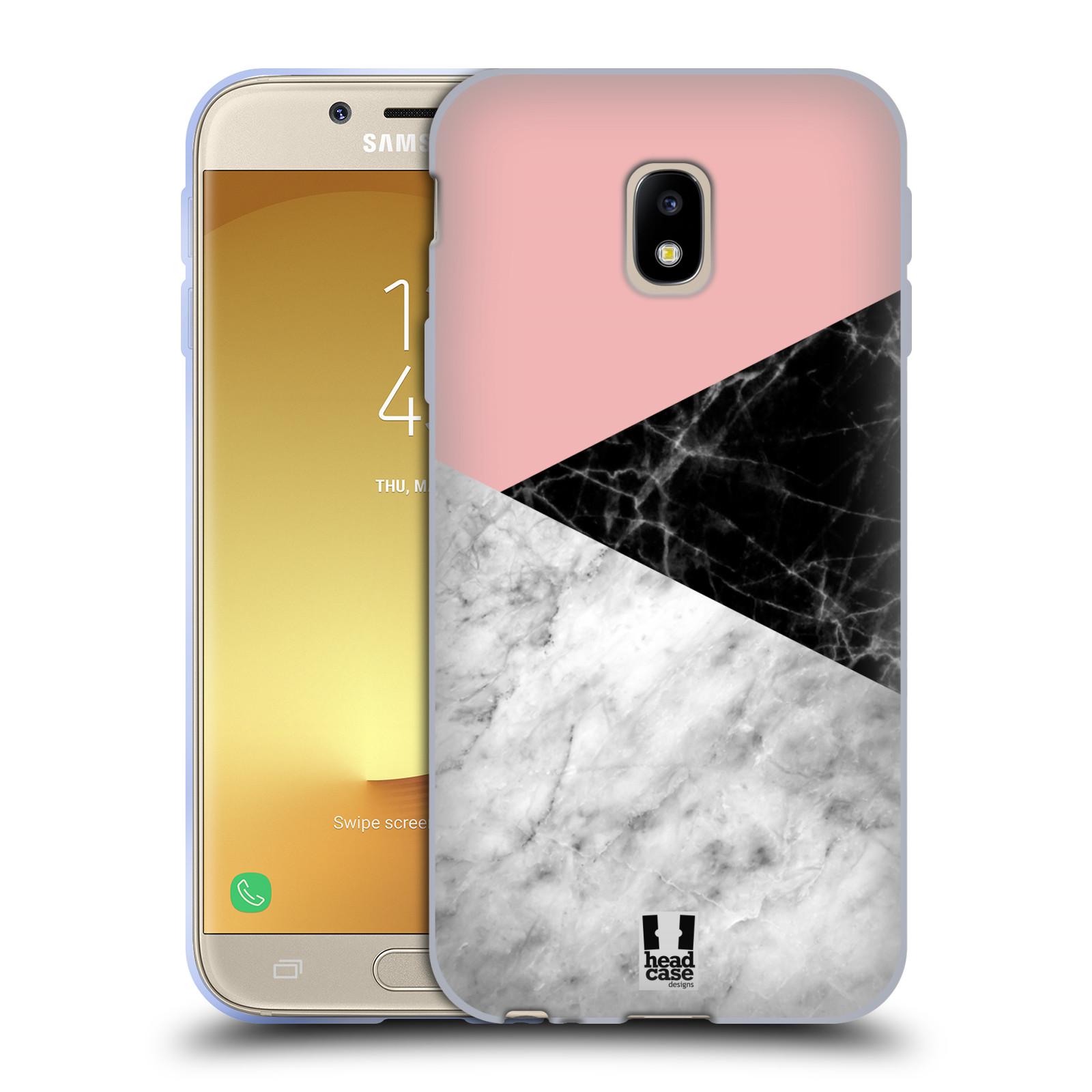 Silikonové pouzdro na mobil Samsung Galaxy J3 (2017) - Head Case - Mramor mix