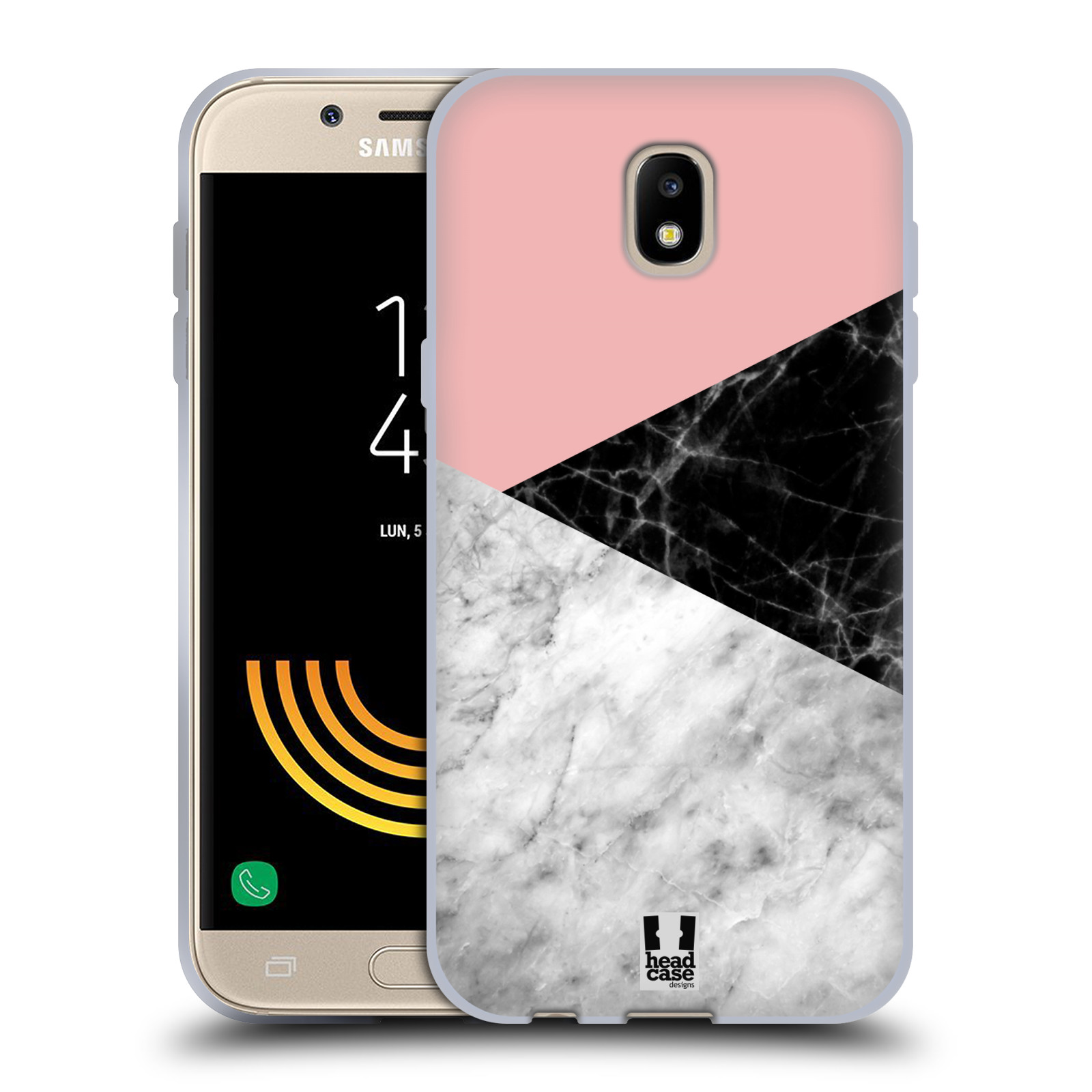Silikonové pouzdro na mobil Samsung Galaxy J5 (2017) - Head Case - Mramor mix