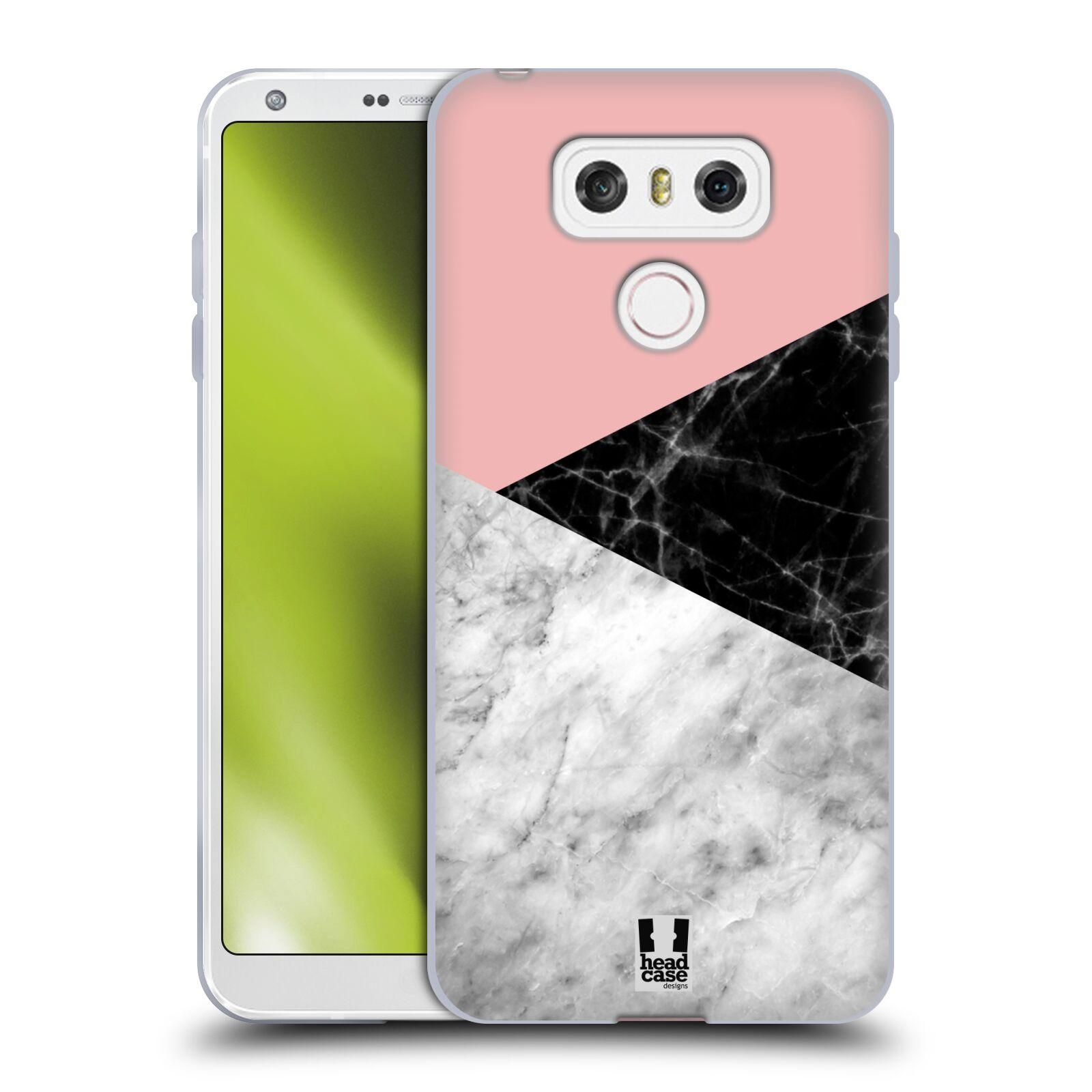 Silikonové pouzdro na mobil LG G6 - Head Case - Mramor mix