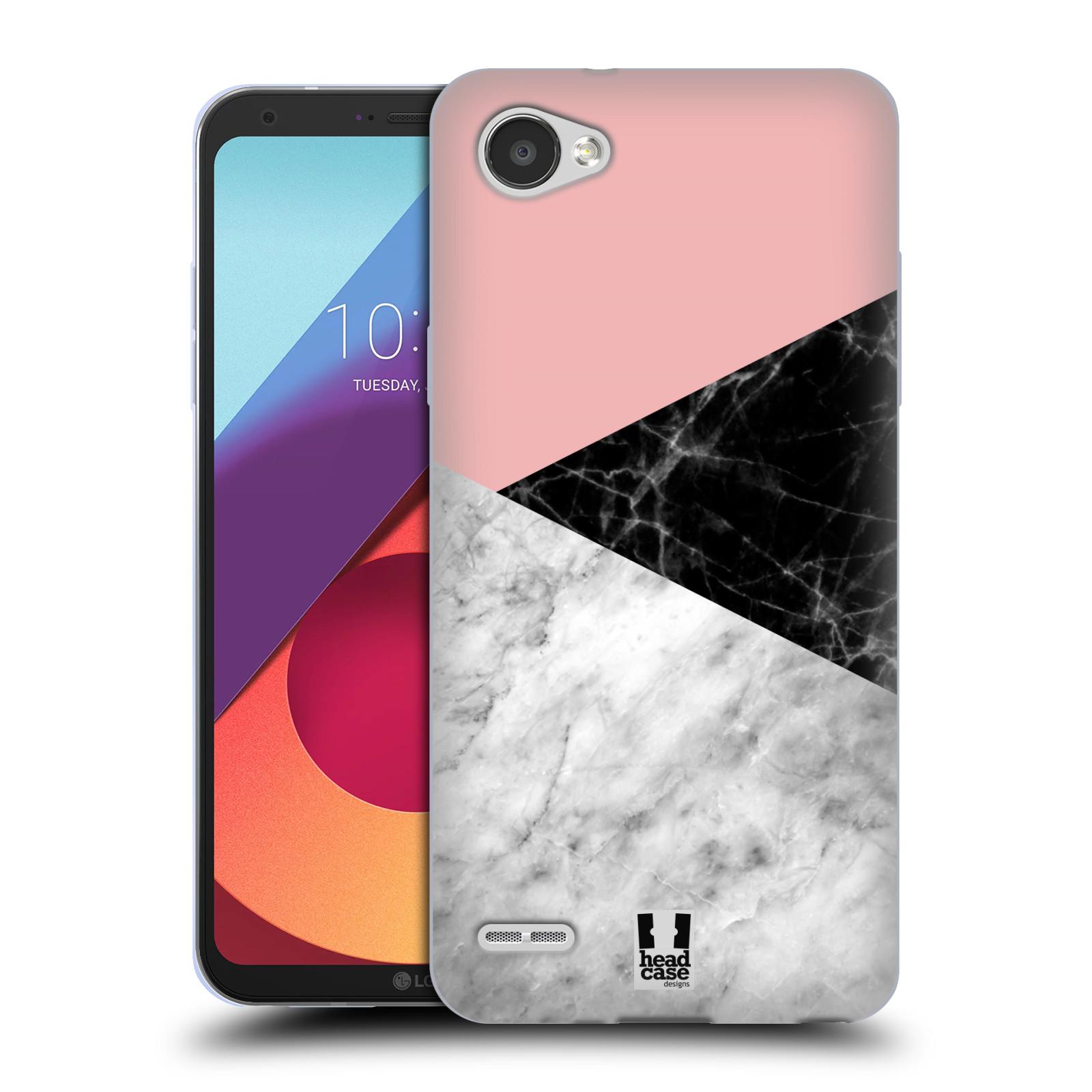 Silikonové pouzdro na mobil LG Q6 - Head Case - Mramor mix