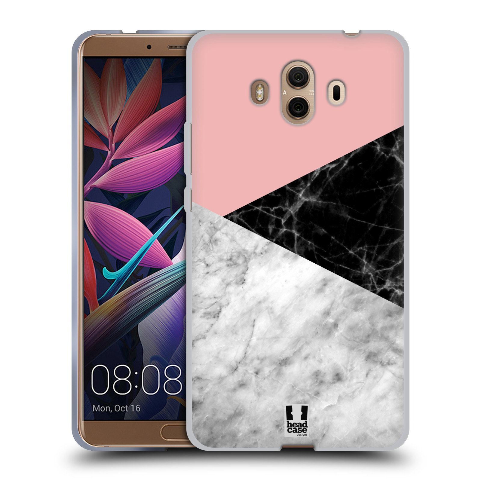 Silikonové pouzdro na mobil Huawei Mate 10 - Head Case - Mramor mix
