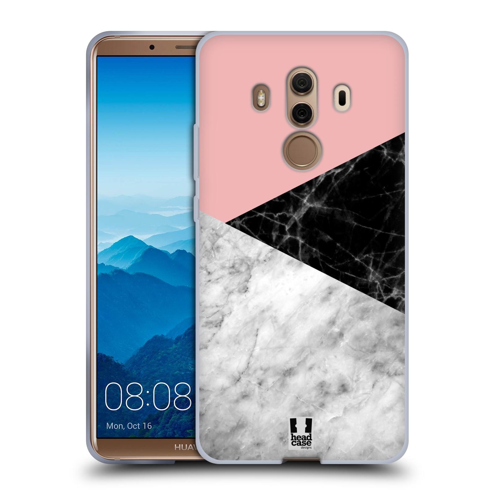 Silikonové pouzdro na mobil Huawei Mate 10 Pro - Head Case - Mramor mix