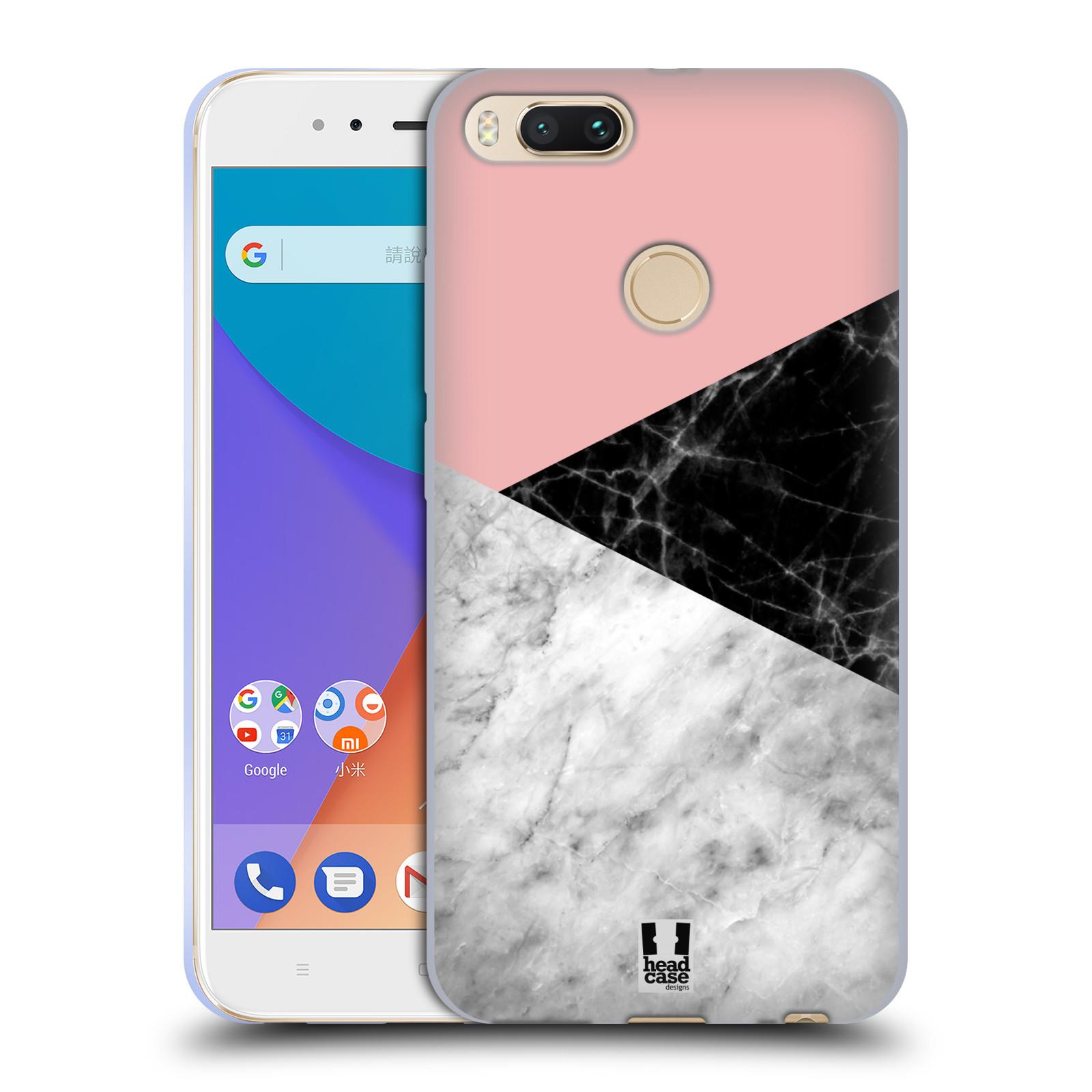 Silikonové pouzdro na mobil Xiaomi Mi A1 - Head Case - Mramor mix