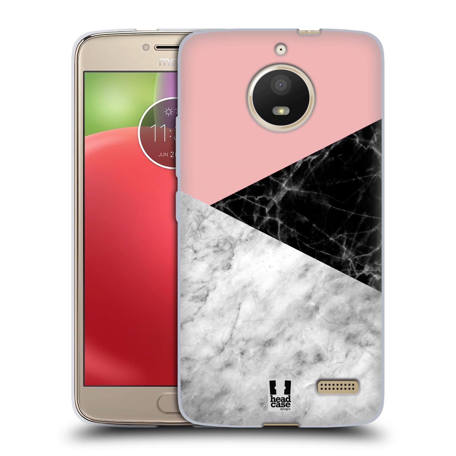 Silikonové pouzdro na mobil Lenovo Moto E4 - Head Case - Mramor mix