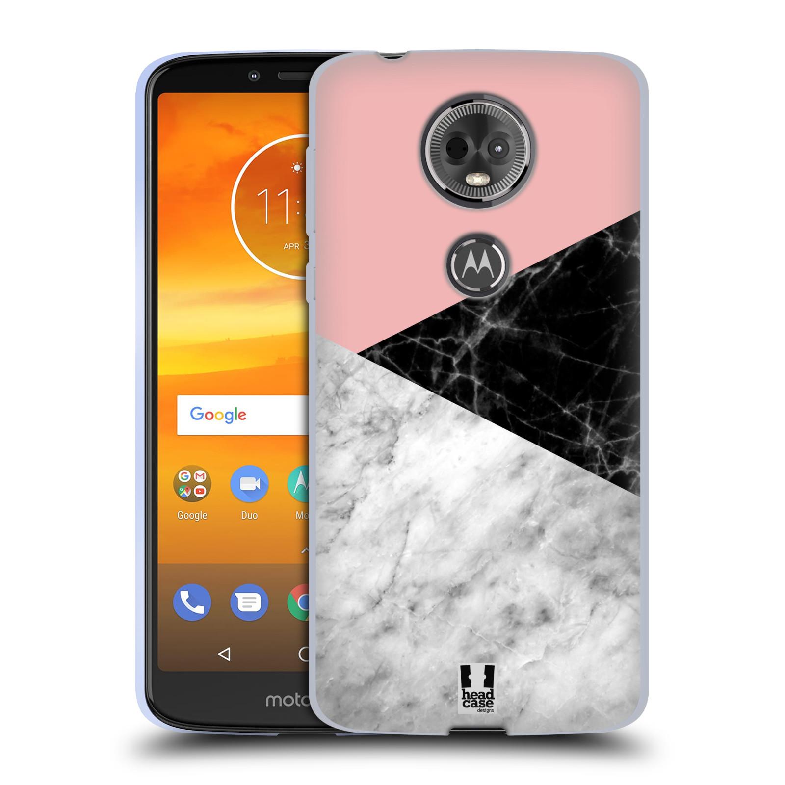 Silikonové pouzdro na mobil Motorola Moto E5 Plus - Head Case - Mramor mix
