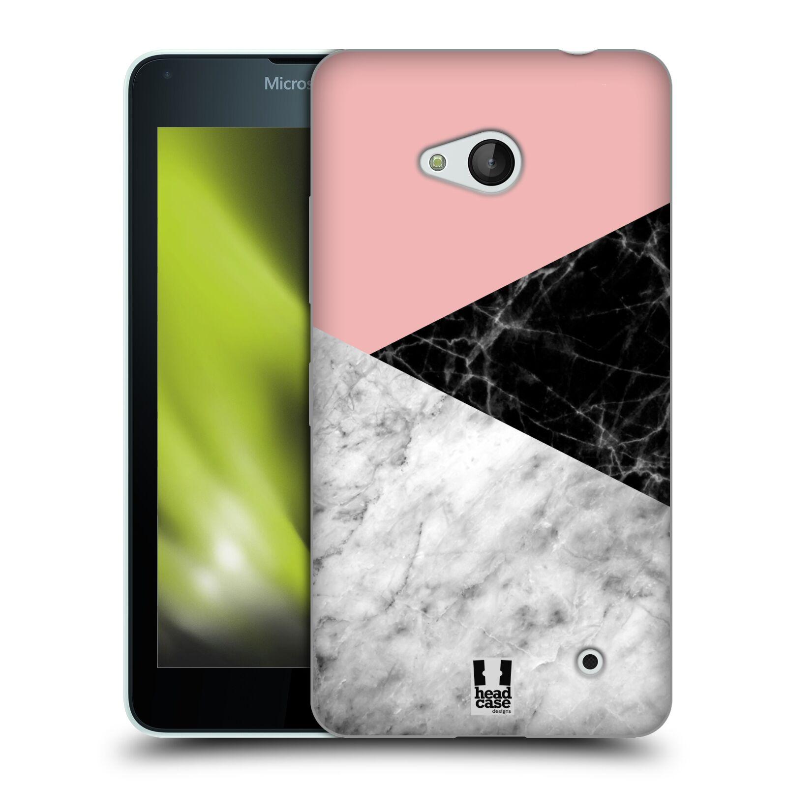Silikonové pouzdro na mobil Microsoft Lumia 640 - Head Case - Mramor mix