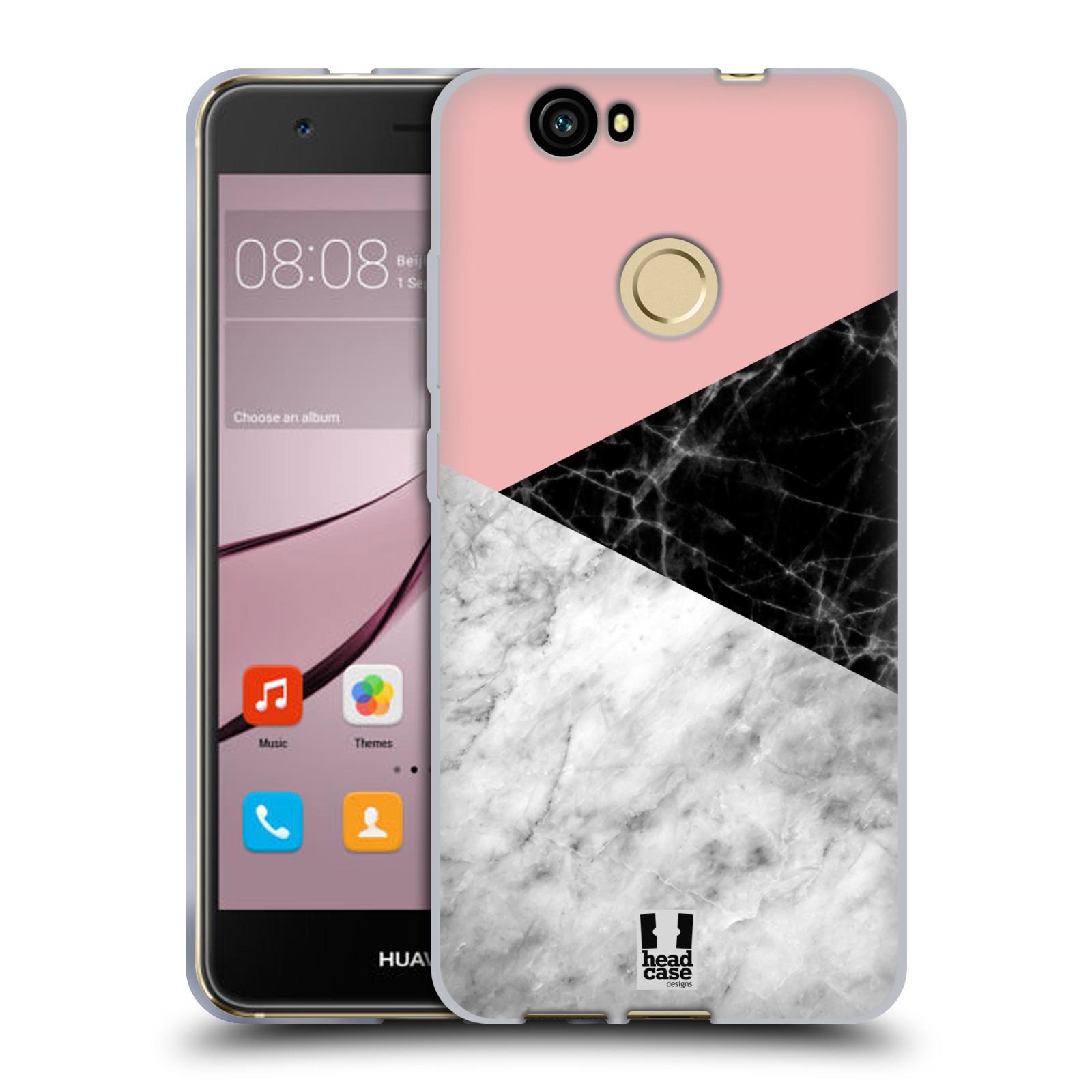Silikonové pouzdro na mobil Huawei Nova - Head Case - Mramor mix