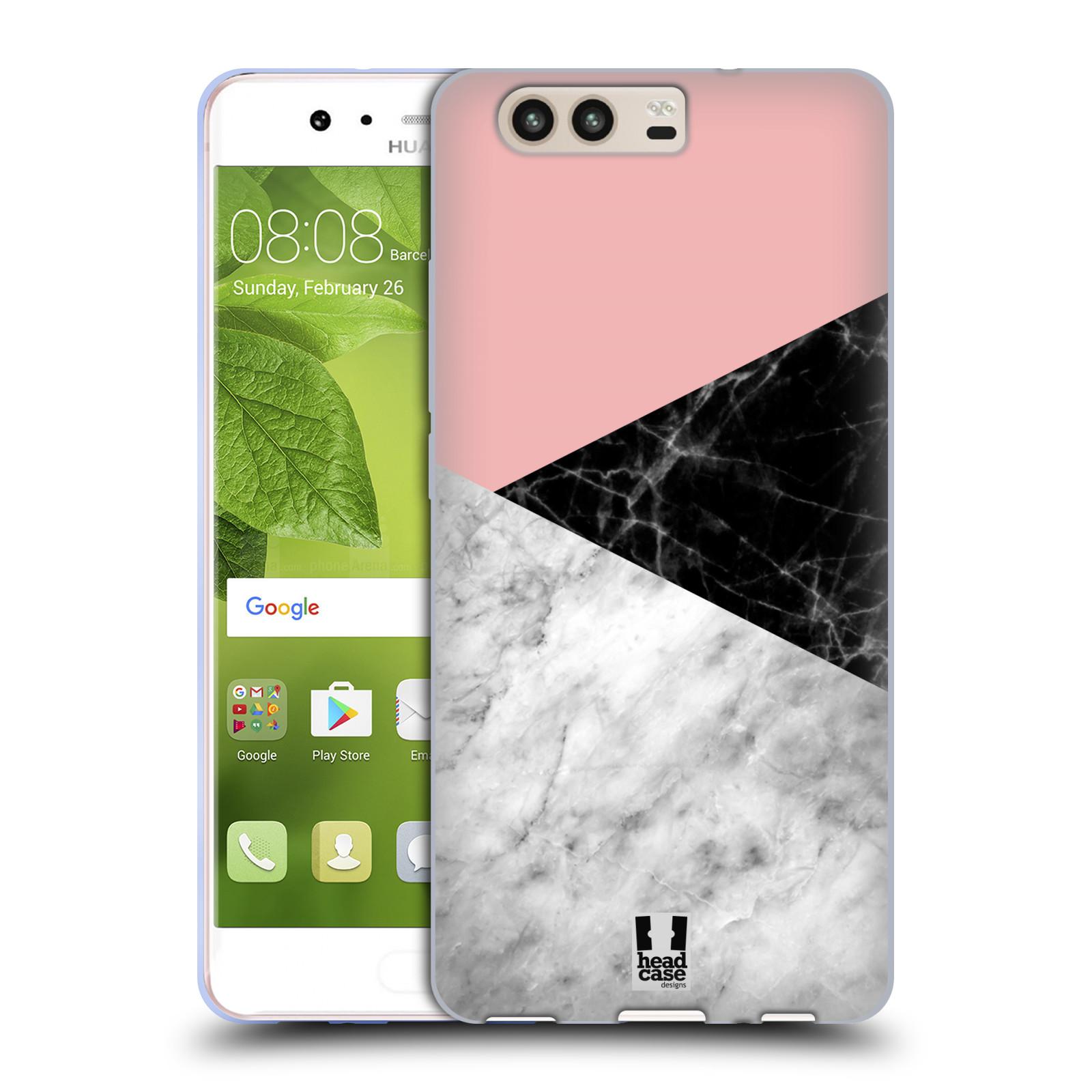 Silikonové pouzdro na mobil Huawei P10 - Head Case - Mramor mix