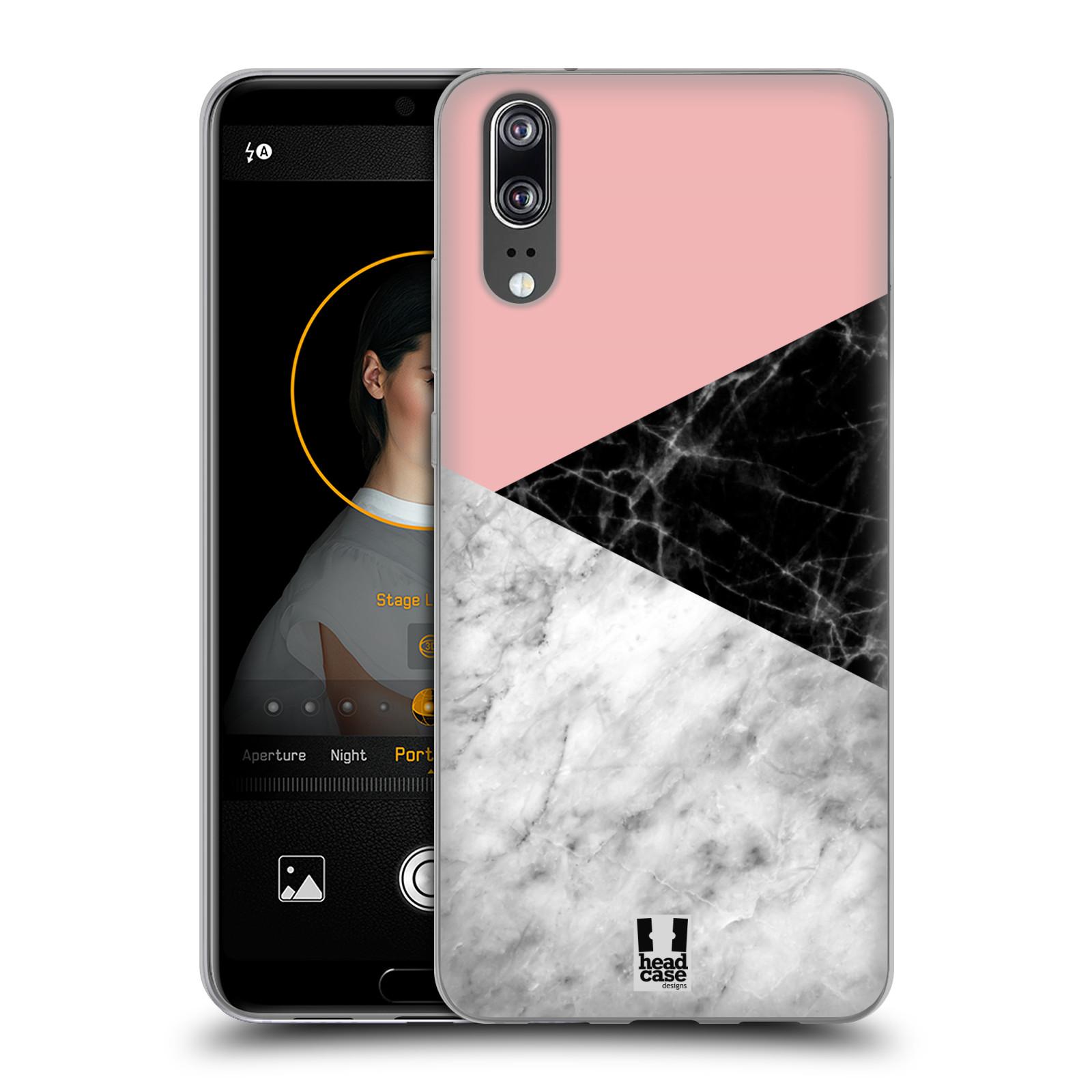 Silikonové pouzdro na mobil Huawei P20 - Head Case - Mramor mix