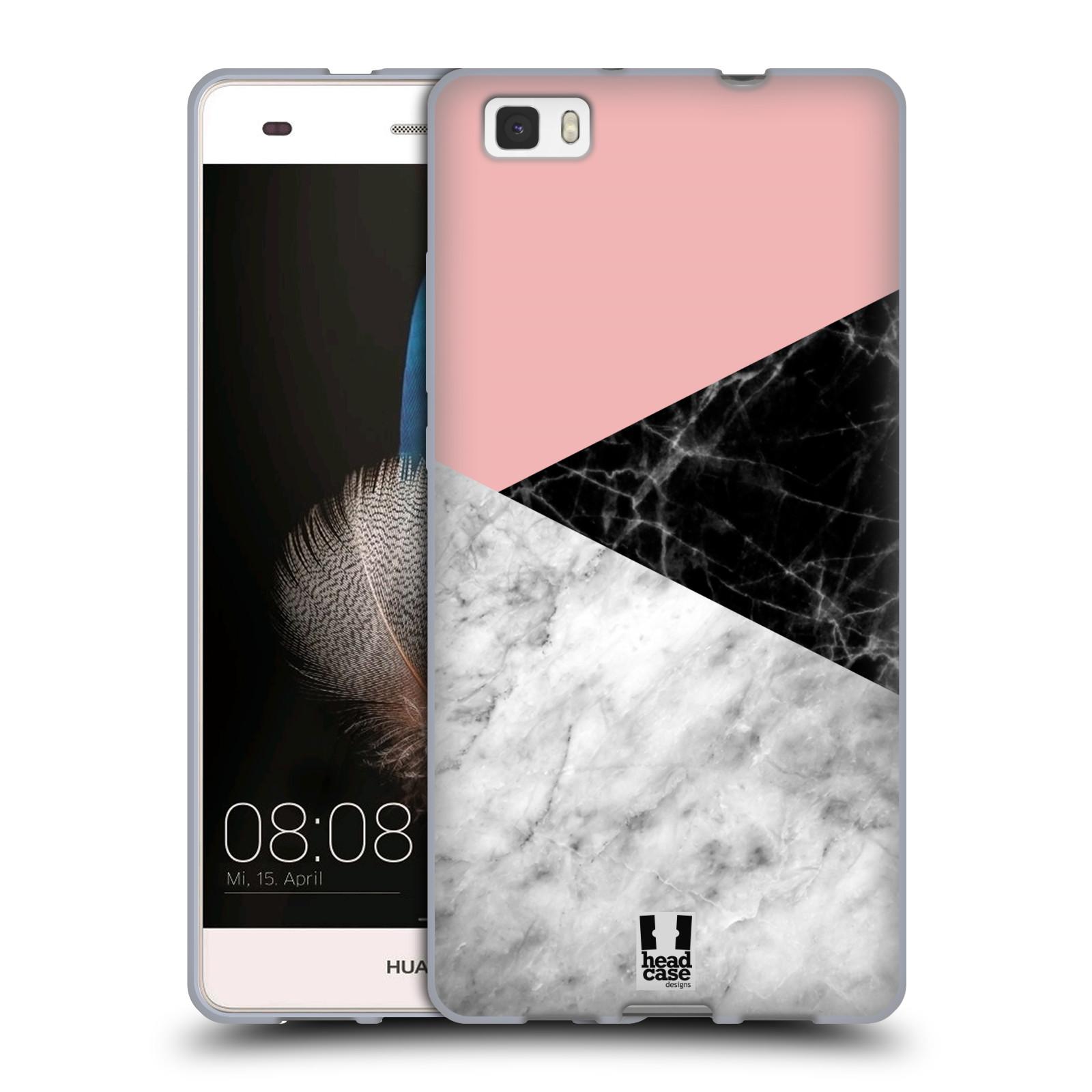 Silikonové pouzdro na mobil Huawei P8 Lite - Head Case - Mramor mix