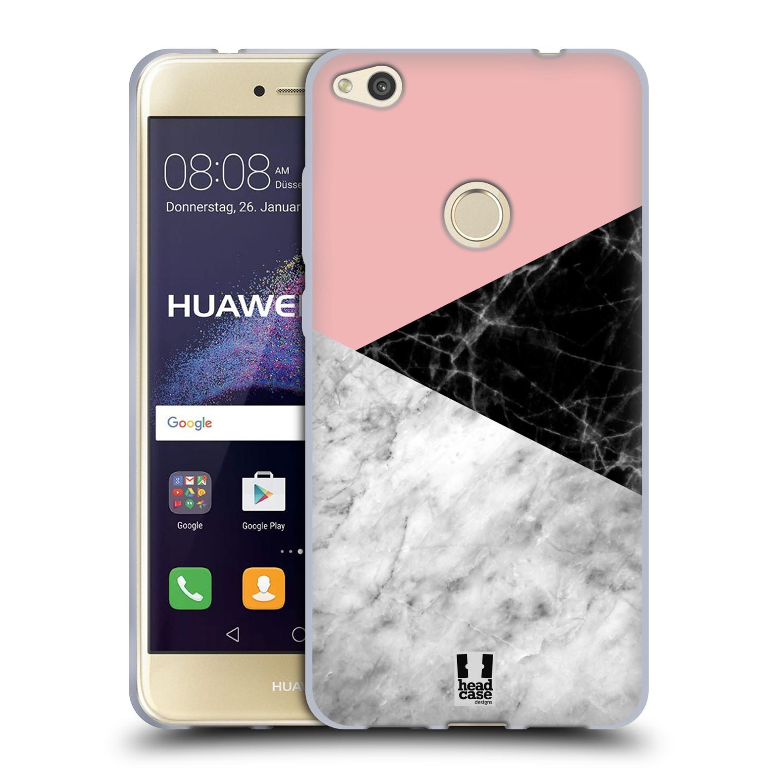 Silikonové pouzdro na mobil Huawei P9 Lite (2017) - Head Case - Mramor mix