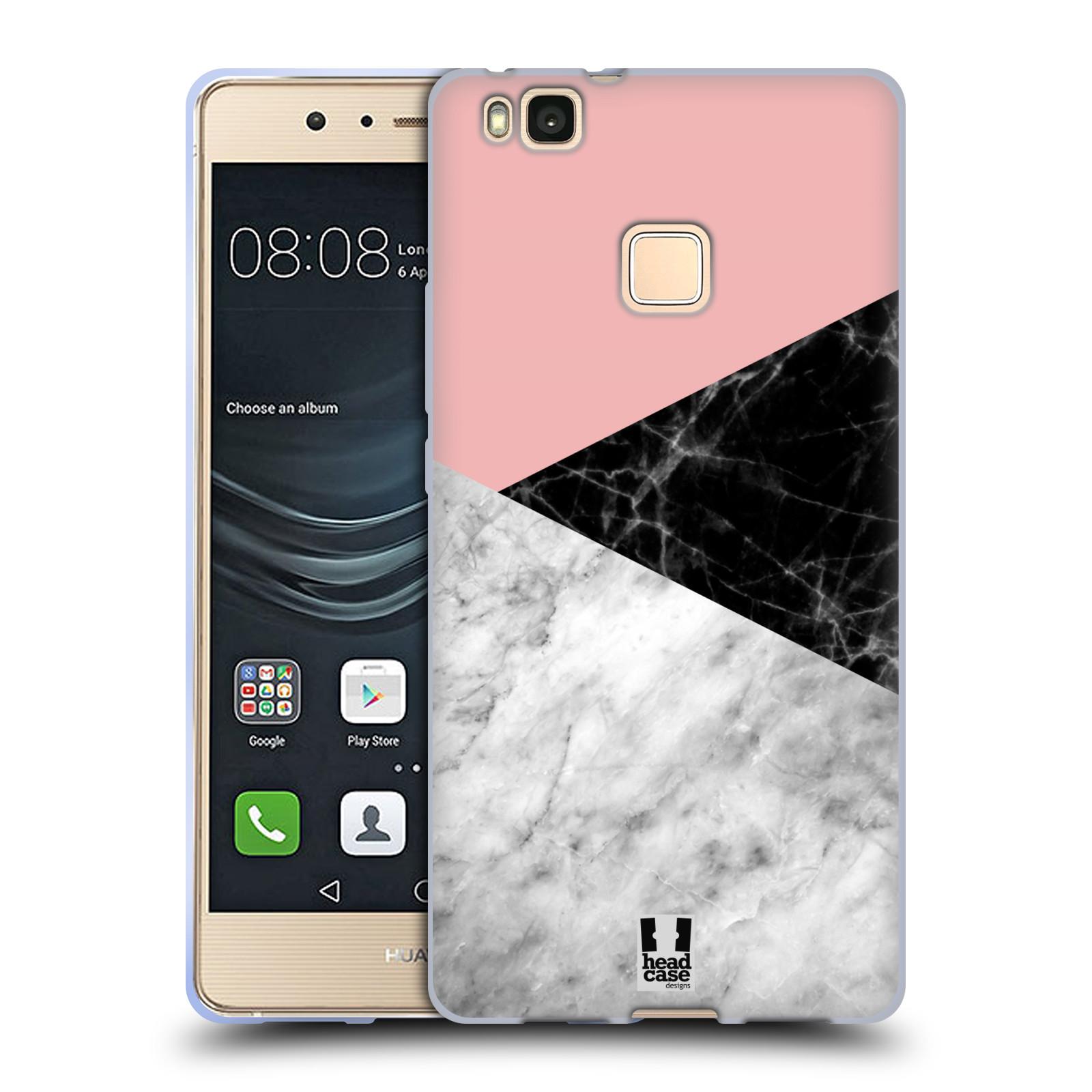 Silikonové pouzdro na mobil Huawei P9 Lite - Head Case - Mramor mix
