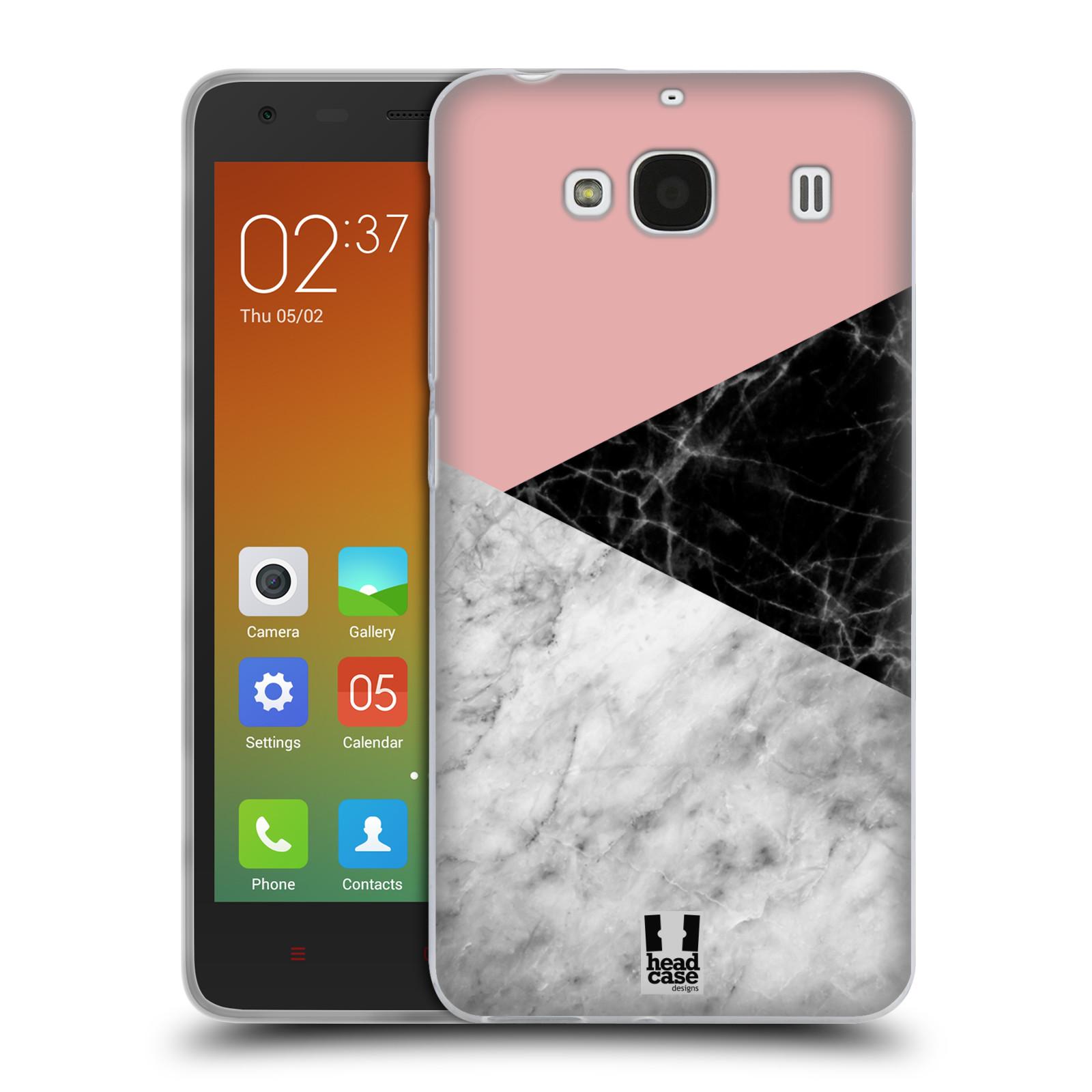 Silikonové pouzdro na mobil Xiaomi Redmi 2 - Head Case - Mramor mix