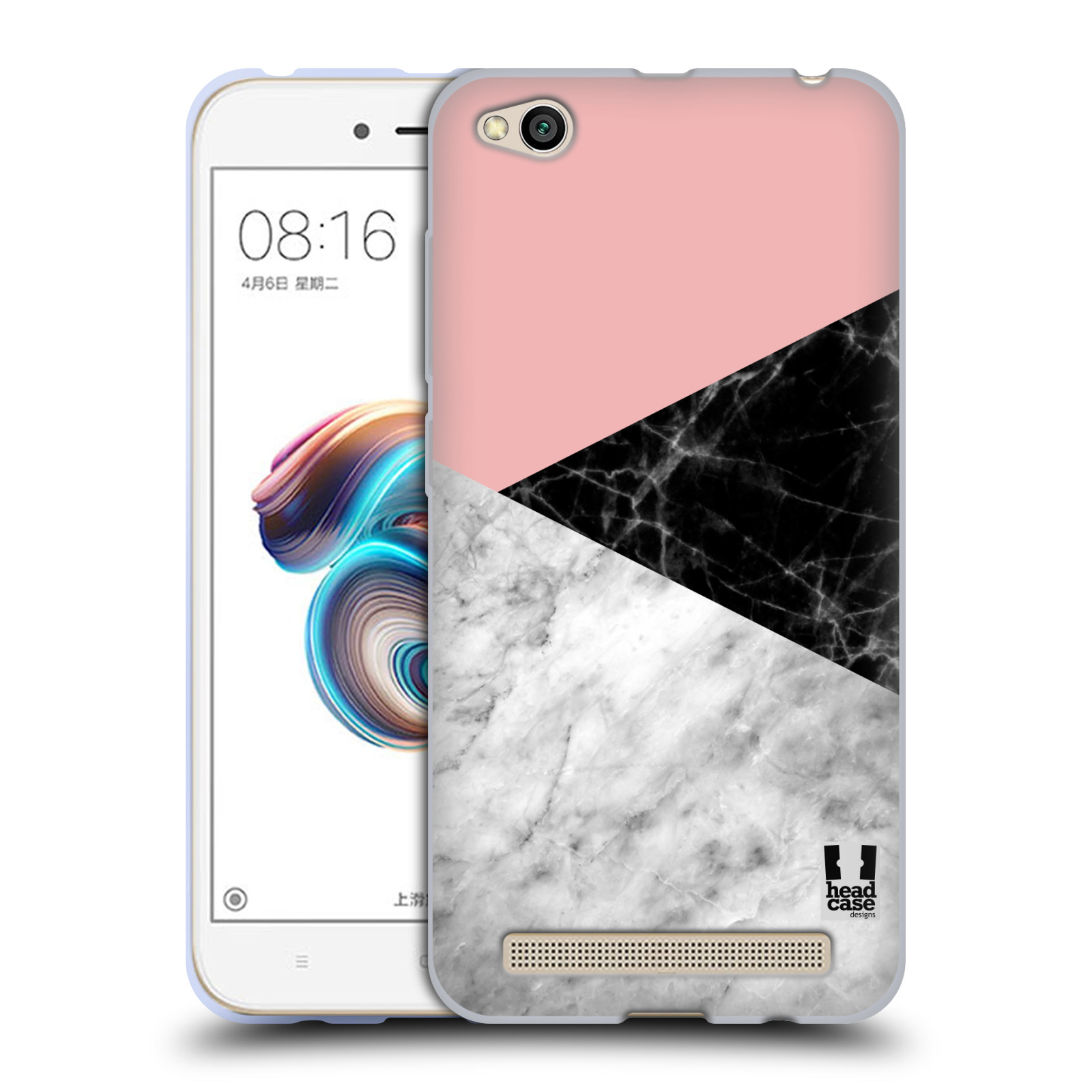 Silikonové pouzdro na mobil Xiaomi Redmi 5A - Head Case - Mramor mix