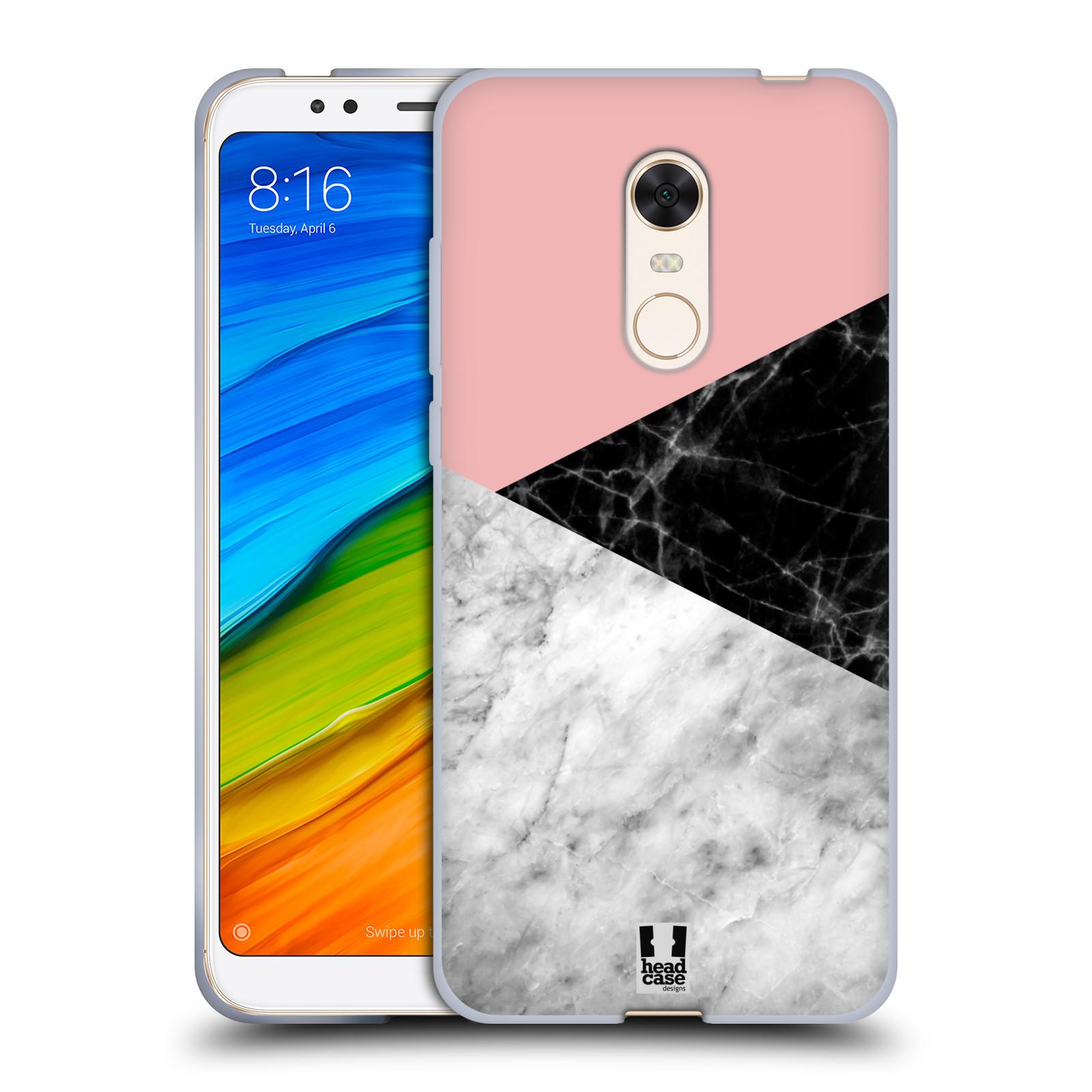 Silikonové pouzdro na mobil Xiaomi Redmi 5 Plus - Head Case - Mramor mix