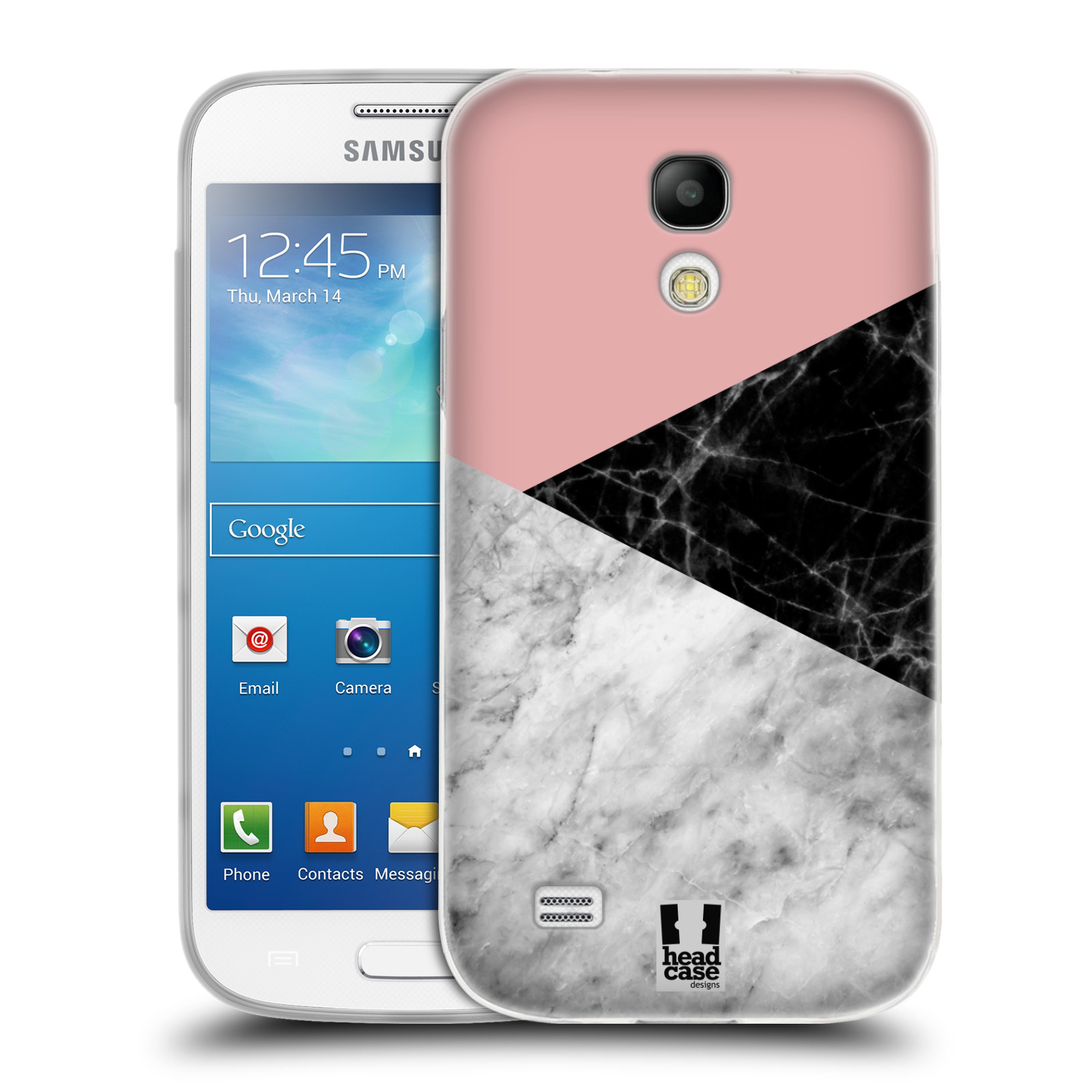 Silikonové pouzdro na mobil Samsung Galaxy S4 Mini VE - Head Case - Mramor mix