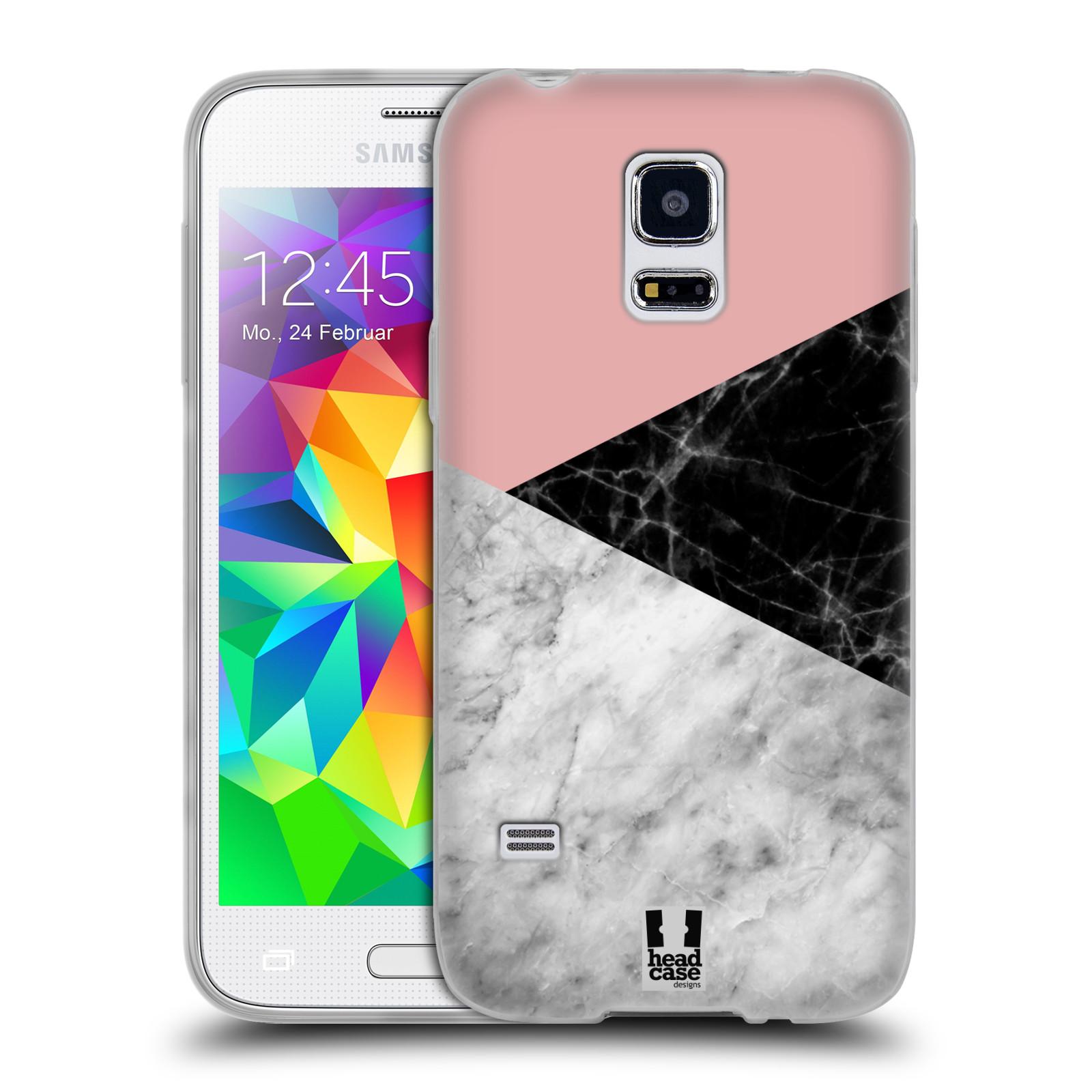 Silikonové pouzdro na mobil Samsung Galaxy S5 Mini - Head Case - Mramor mix
