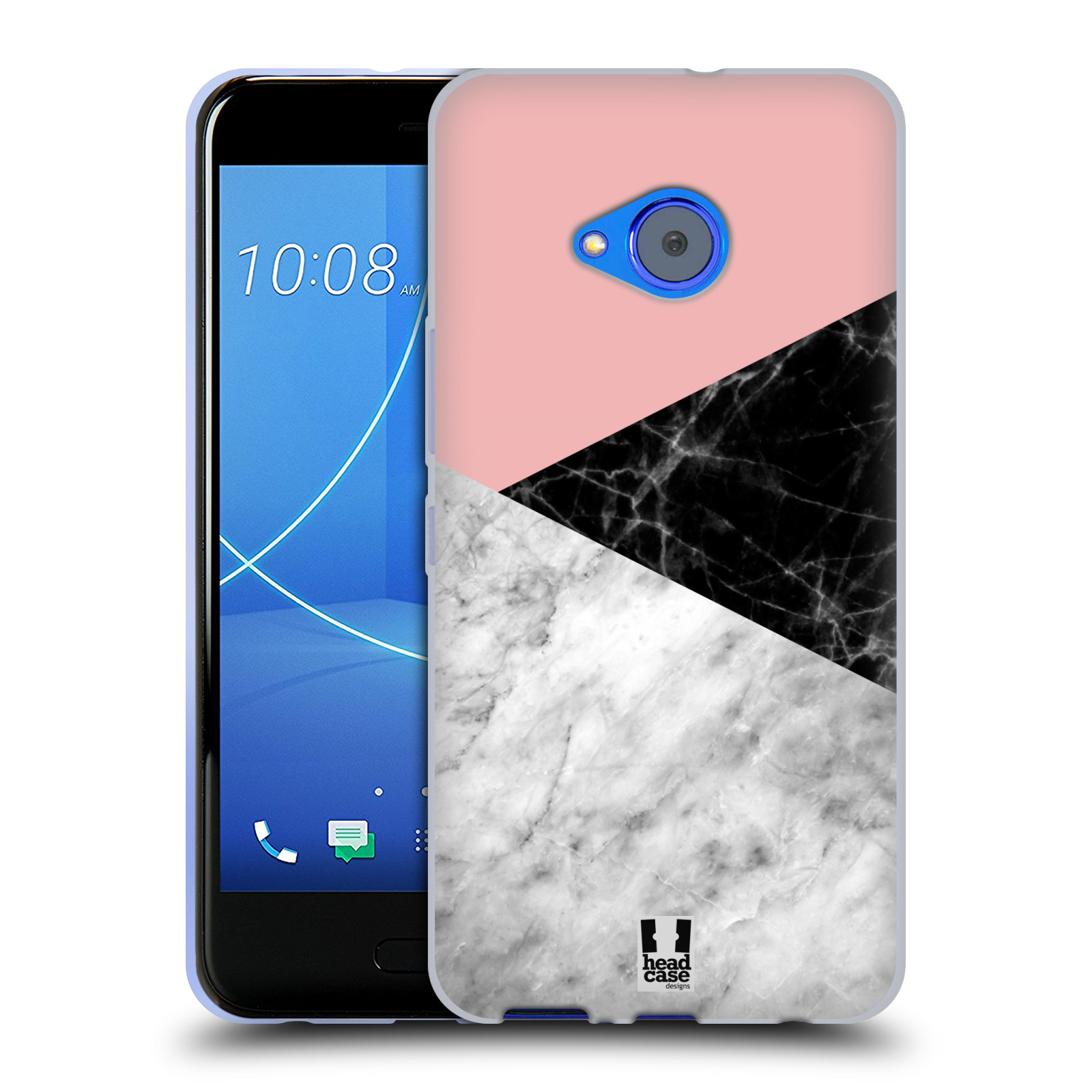 Silikonové pouzdro na mobil HTC U11 Life - Head Case - Mramor mix