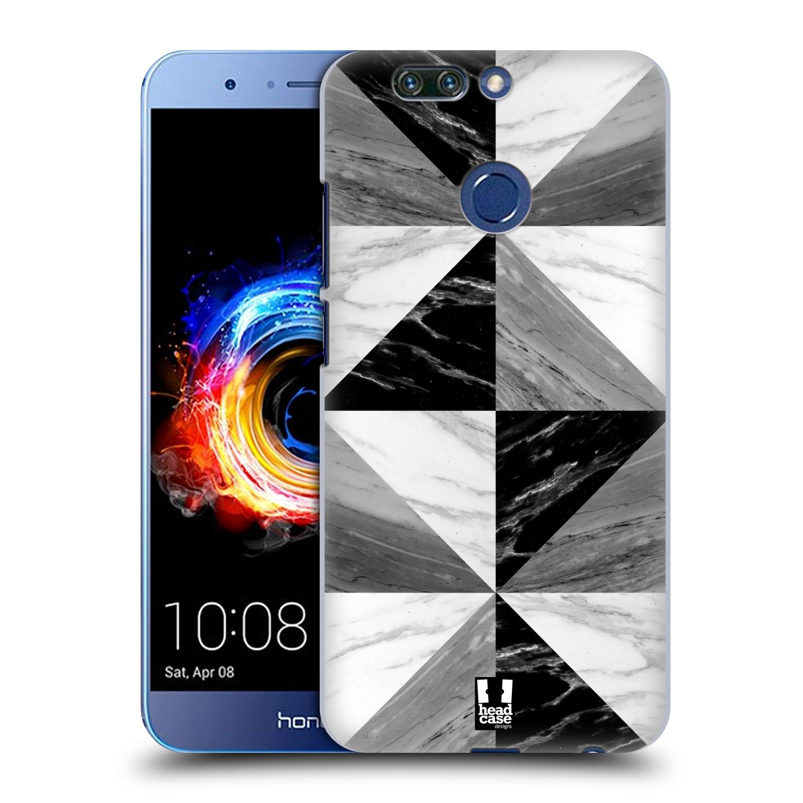 Plastové pouzdro na mobil Honor 8 Pro - Head Case - Mramor triangl