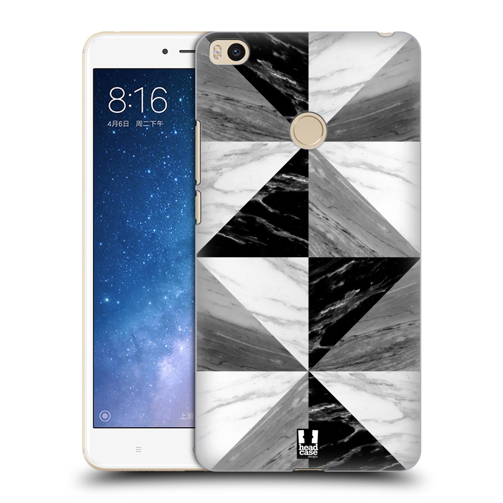 Plastové pouzdro na mobil Xiaomi Mi Max 2 - Head Case - Mramor triangl