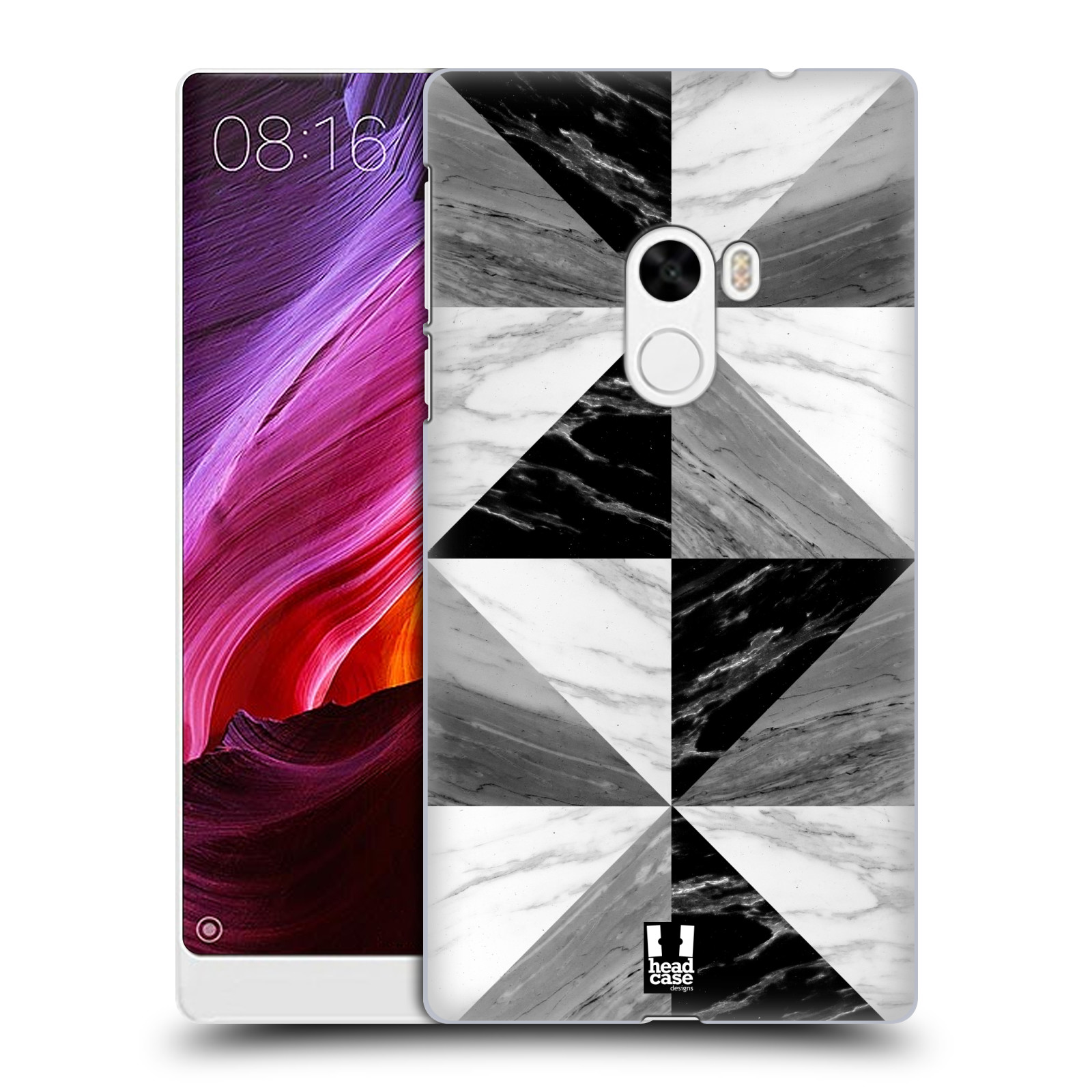 Plastové pouzdro na mobil Xiaomi Mi Mix - Head Case - Mramor triangl