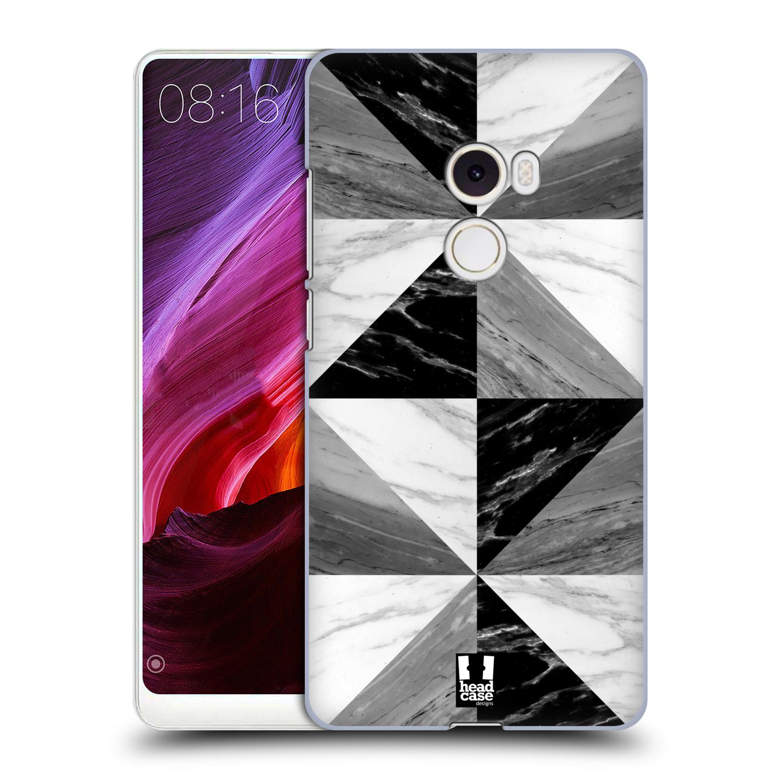 Plastové pouzdro na mobil Xiaomi Mi Mix 2 - Head Case - Mramor triangl