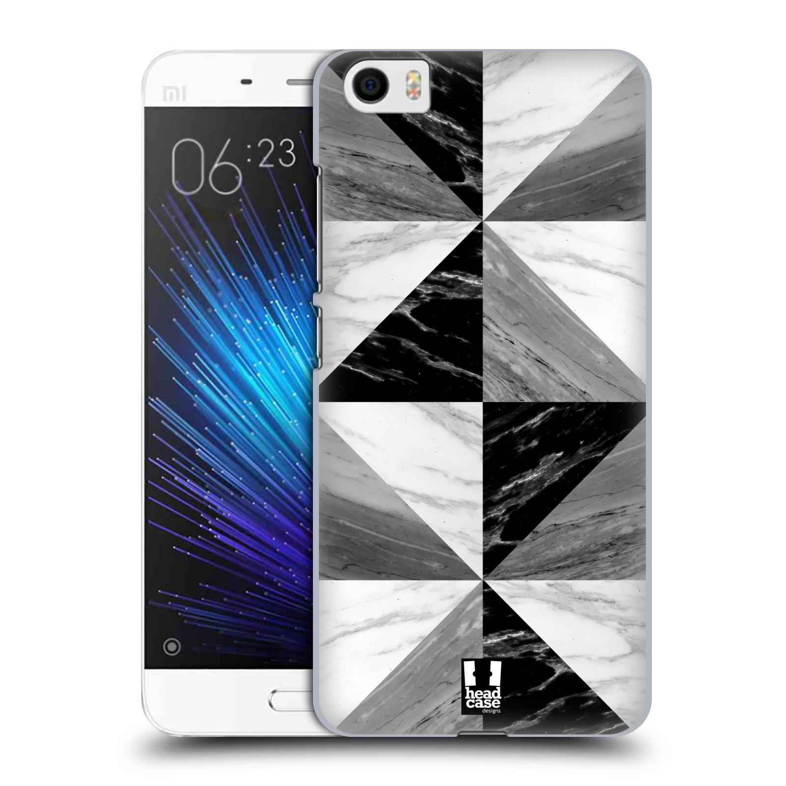 Plastové pouzdro na mobil Xiaomi Mi5 - Head Case - Mramor triangl