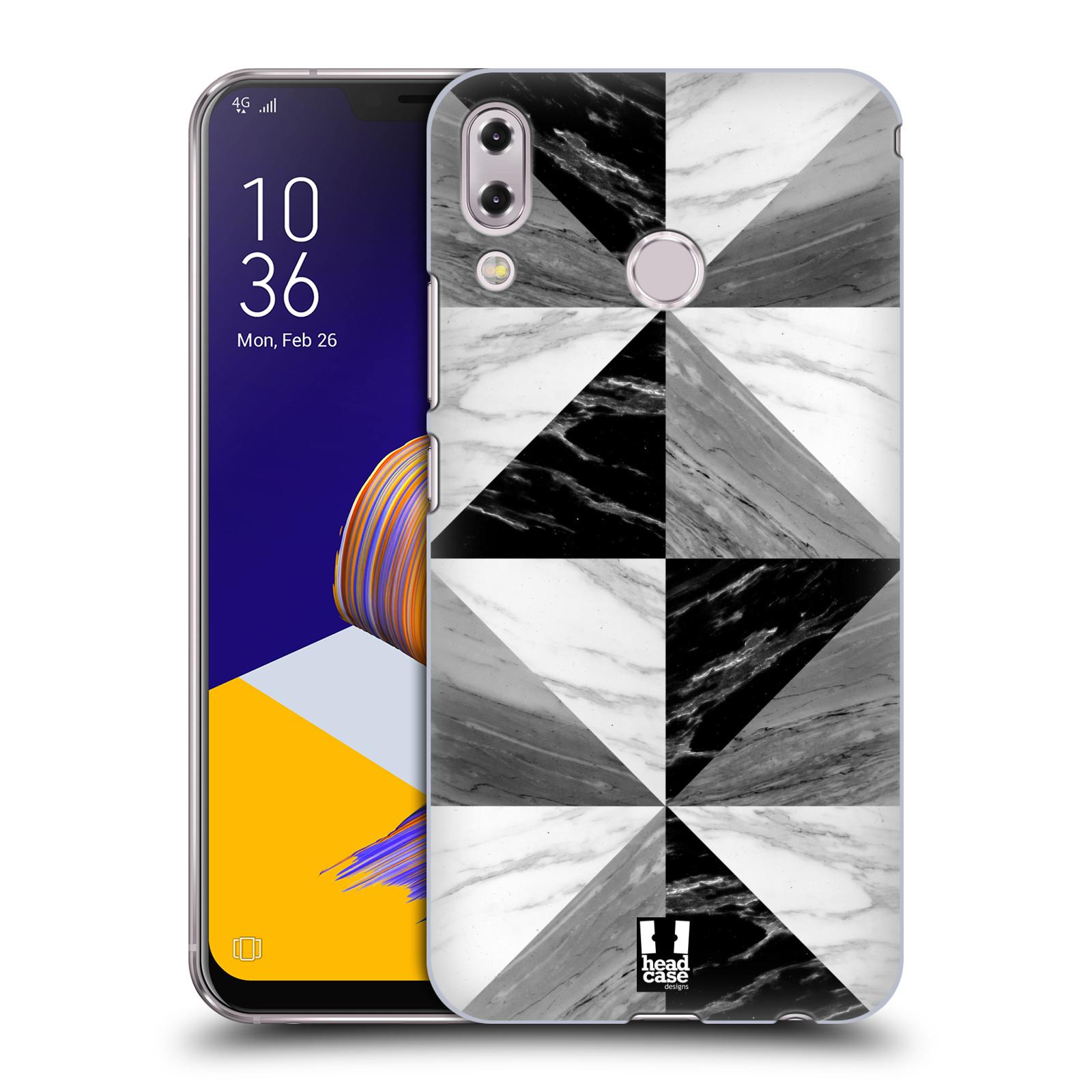 Plastové pouzdro na mobil Asus Zenfone 5z ZS620KL - Head Case - Mramor triangl (Plastový kryt či obal na mobilní telefon Asus Zenfone 5z (ZS620KL) s motivem Mramor triangl)