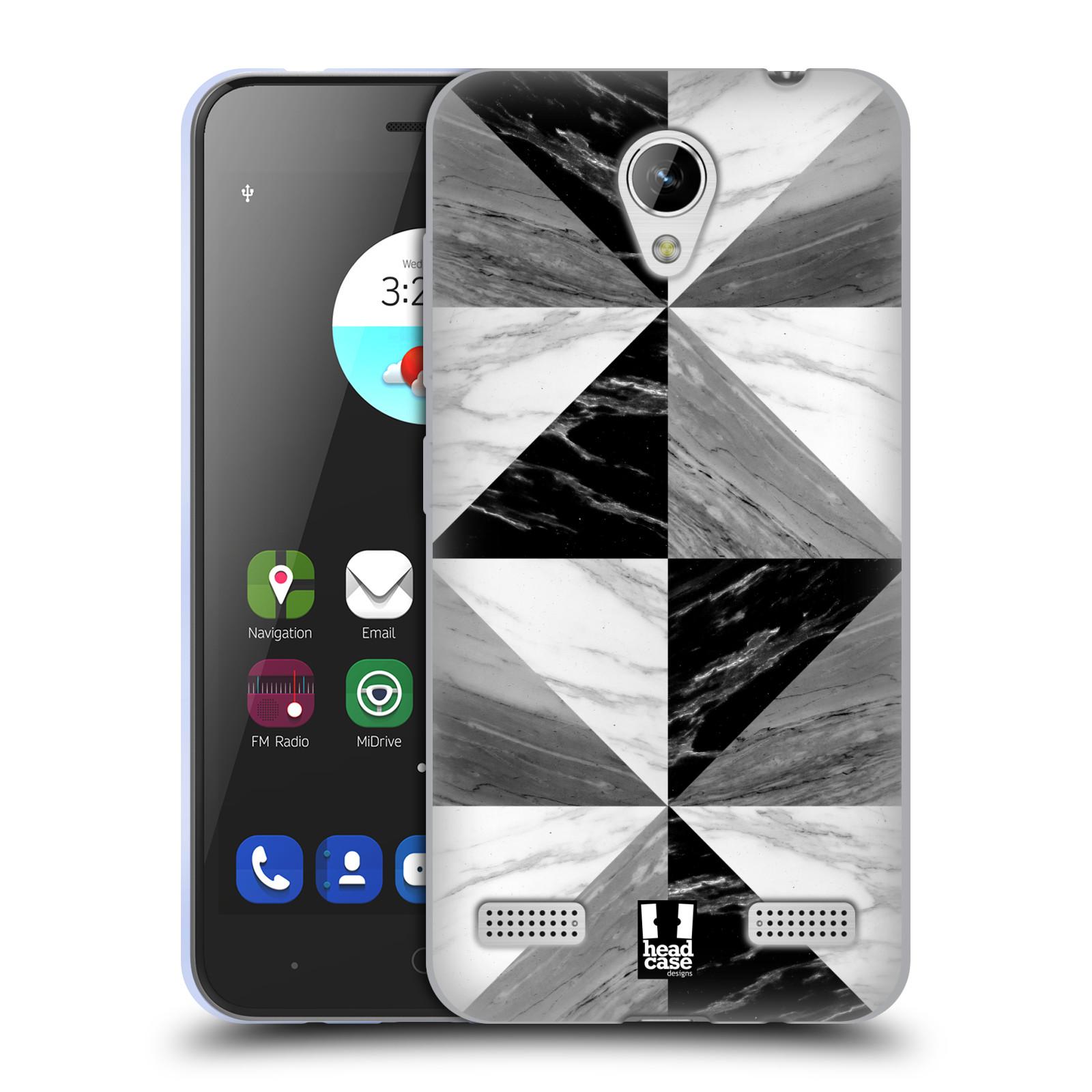 Silikonové pouzdro na mobil ZTE Blade A520 - Head Case - Mramor triangl b853926bf2d