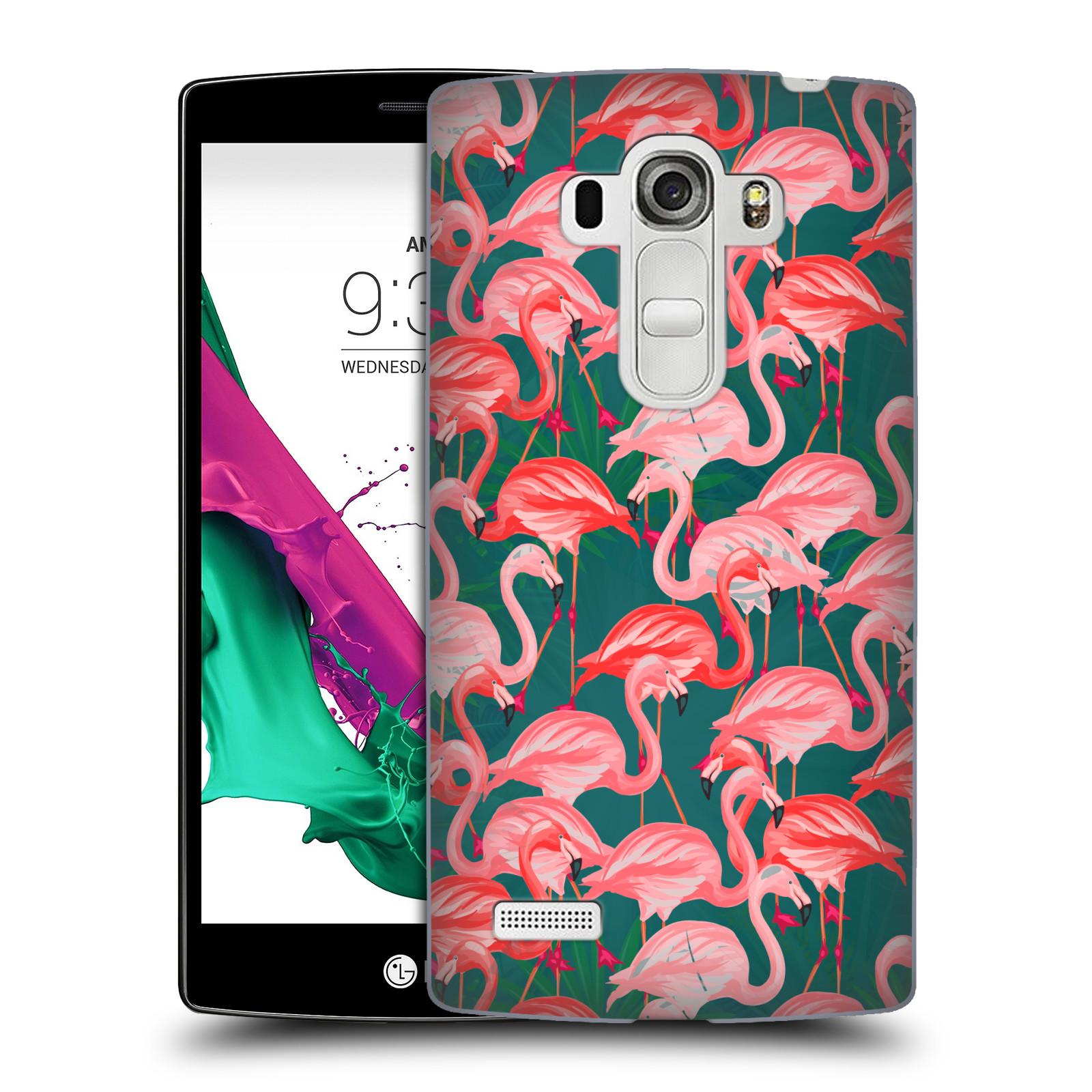 Plastové pouzdro na mobil LG G4s - Head Case - Plameňáci