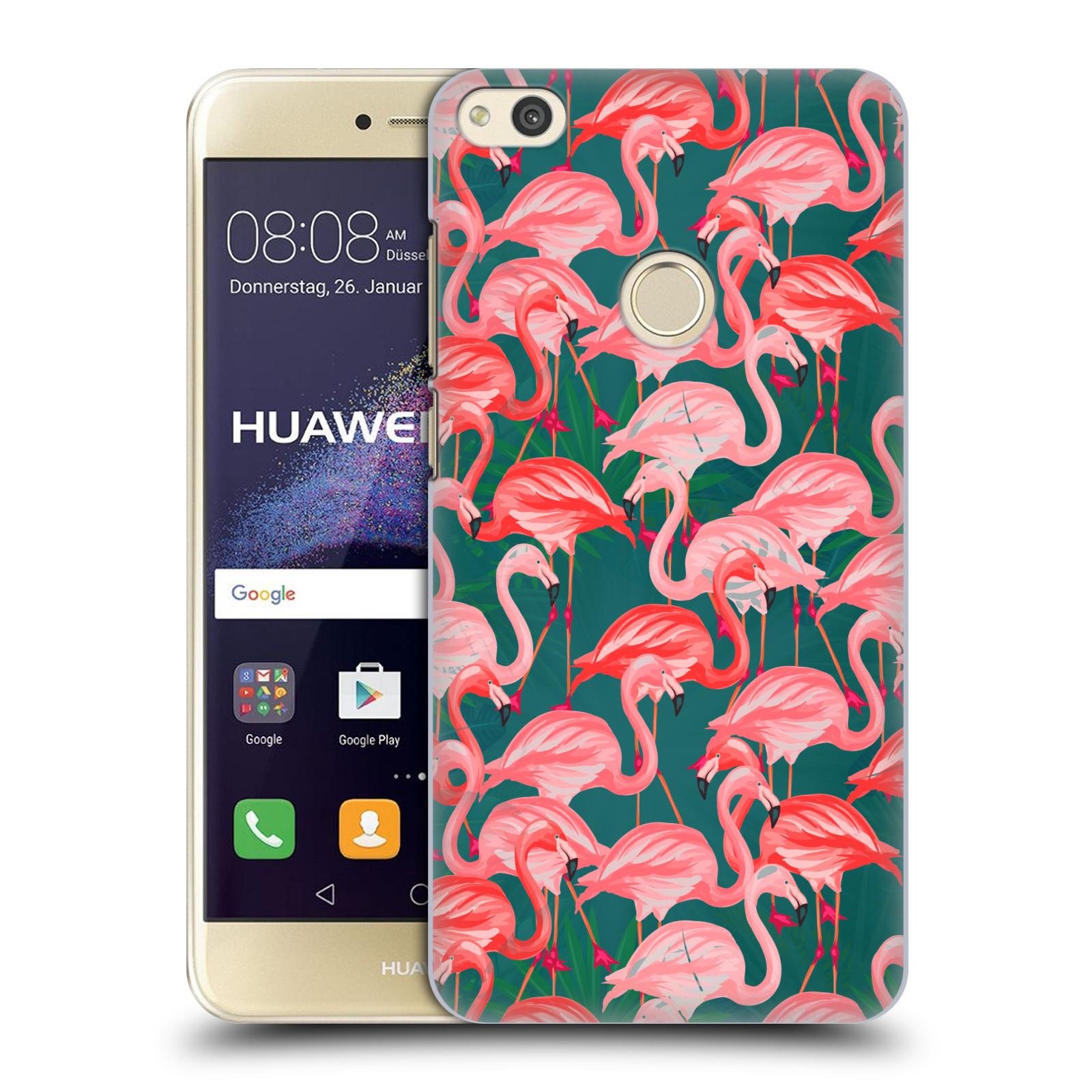 Plastové pouzdro na mobil Huawei P9 Lite (2017) - Head Case - Plameňáci ( 25bca956fc6