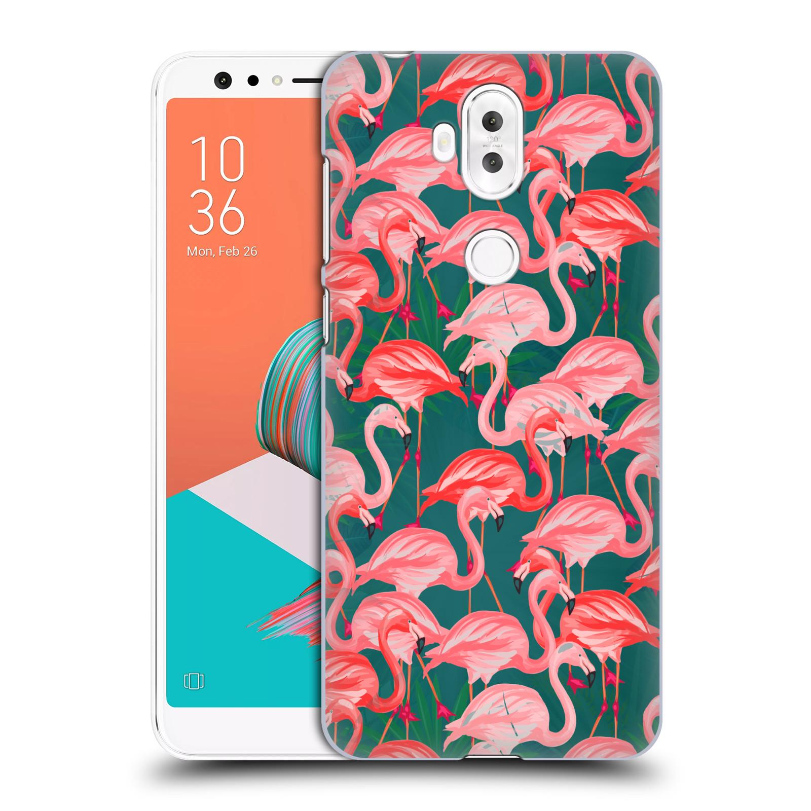 Plastové pouzdro na mobil Asus ZenFone 5 Lite ZC600KL - Head Case - Plameňáci (Plastový kryt či obal na mobilní telefon Asus ZenFone 5 Lite (ZC600KL) s motivem Plameňáci)