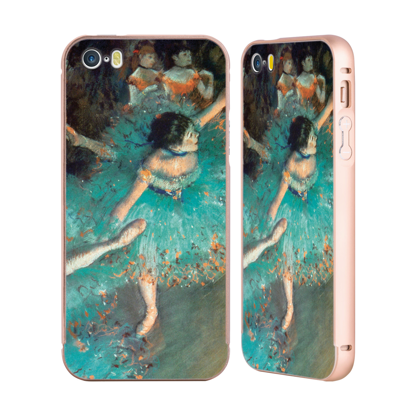 OFFICIAL-MASTERS-COLLECTION-PAINTINGS-2-GOLD-SLIDER-CASE-FOR-APPLE-iPHONE-PHONES